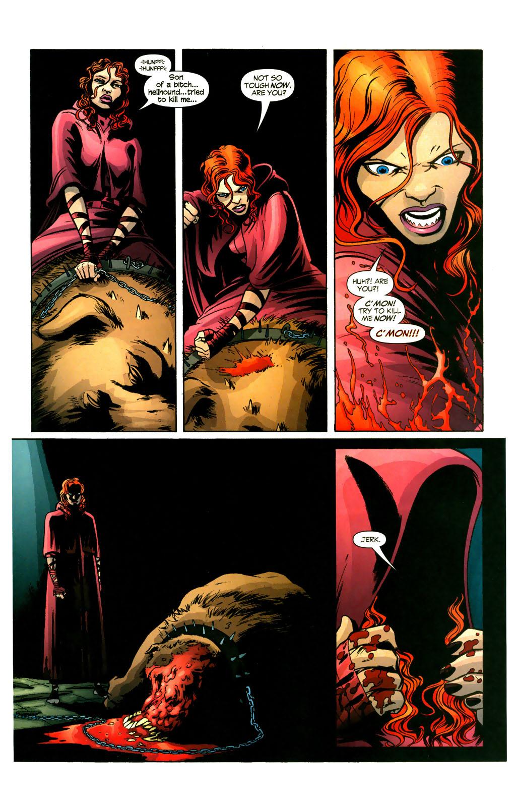 Read online Fallen Angel (2003) comic -  Issue #9 - 17
