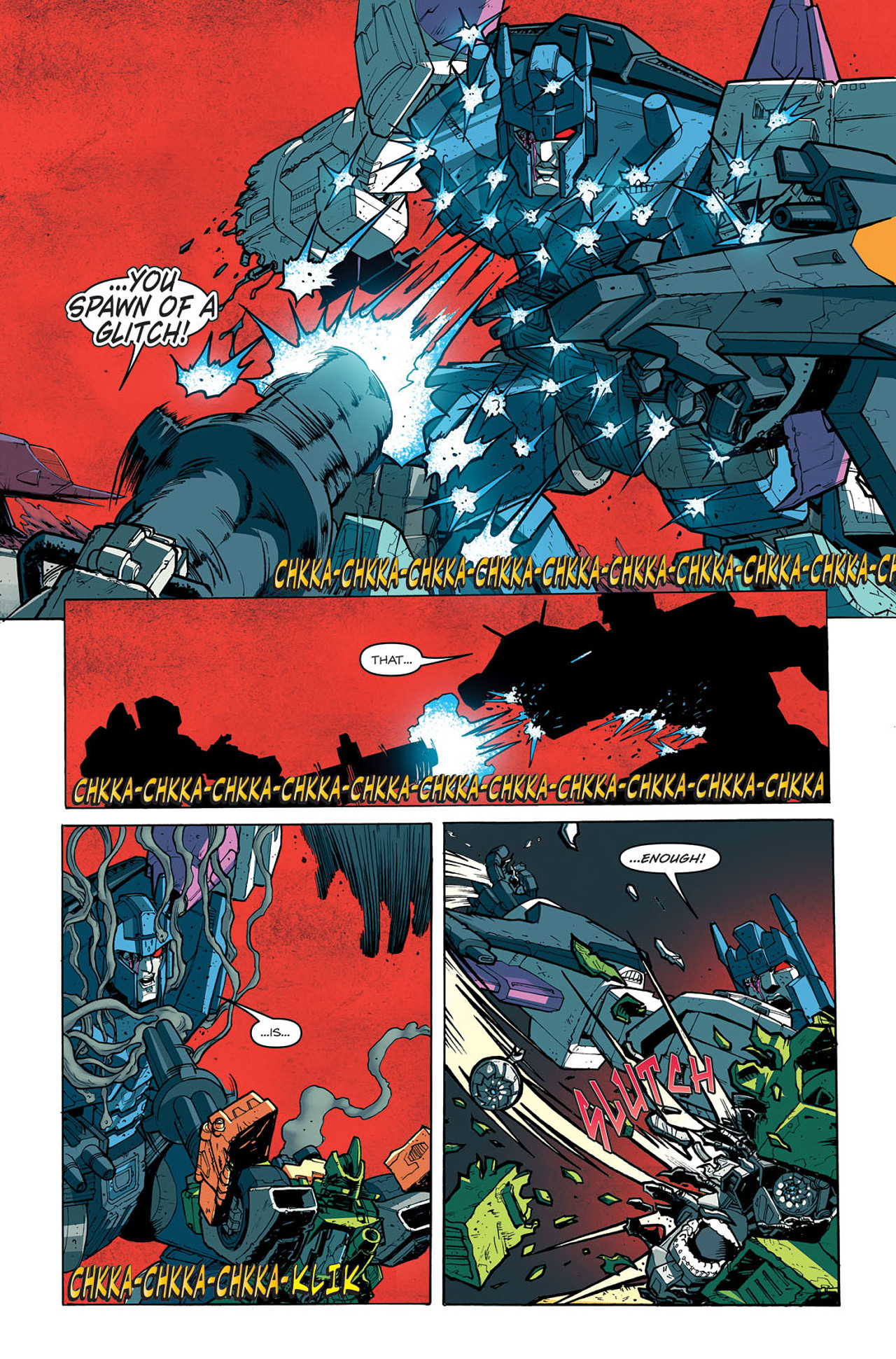 Read online Transformers: Last Stand of The Wreckers comic -  Issue #5 - 16