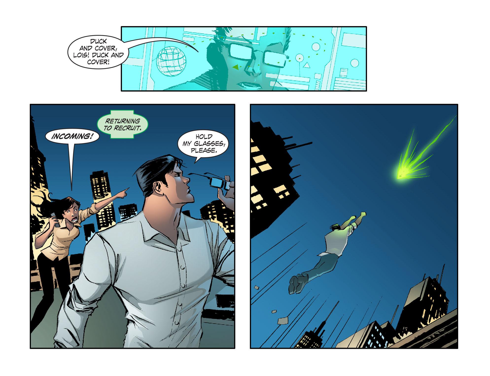 Read online Smallville: Lantern [I] comic -  Issue #2 - 14
