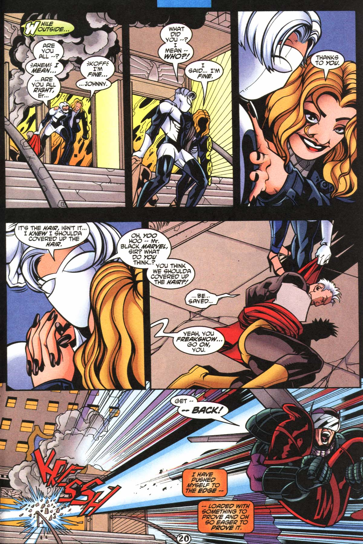 Read online Slingers comic -  Issue #5 - 21