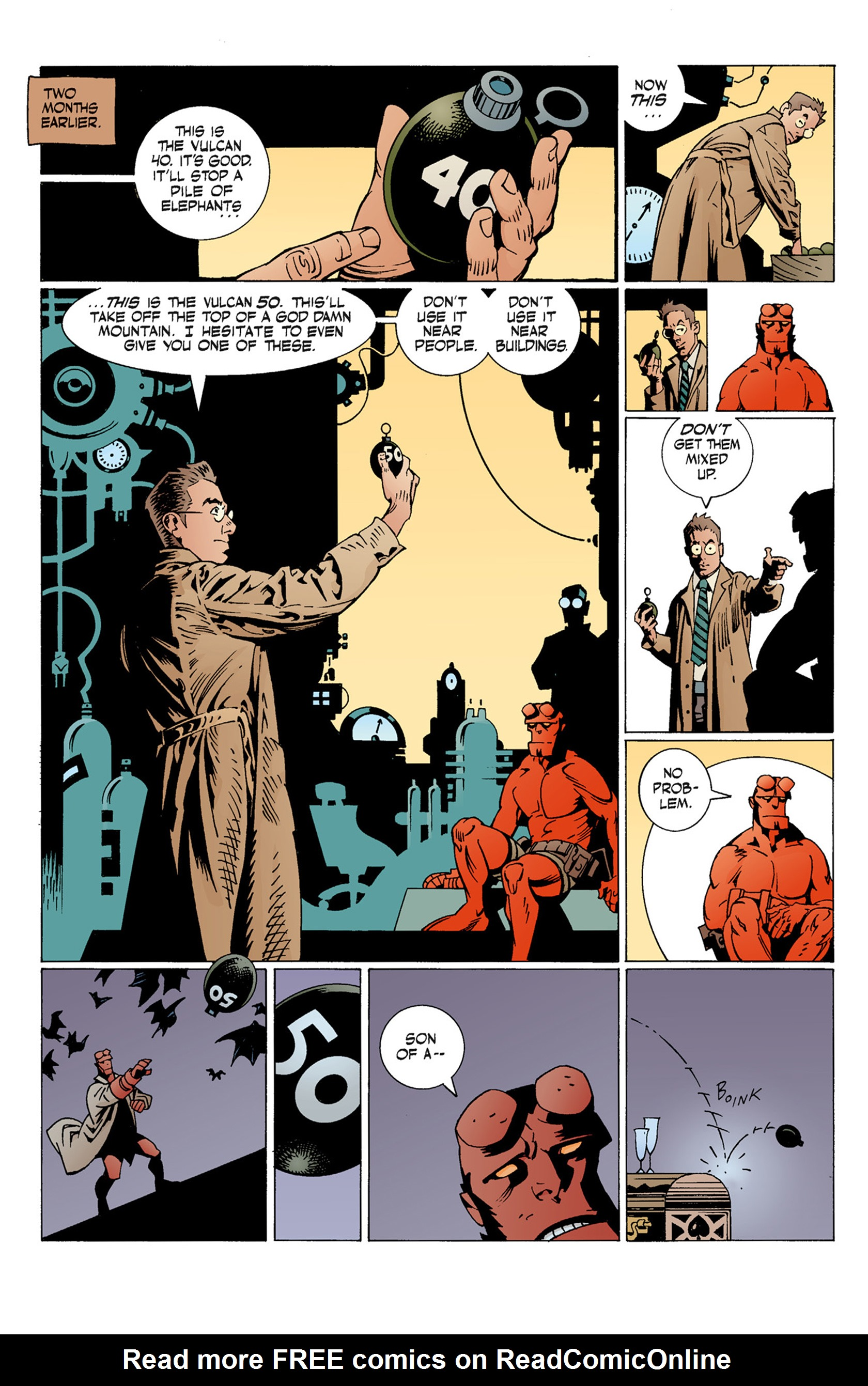 Read online Hellboy: The Troll Witch and Others comic -  Issue # TPB - 42