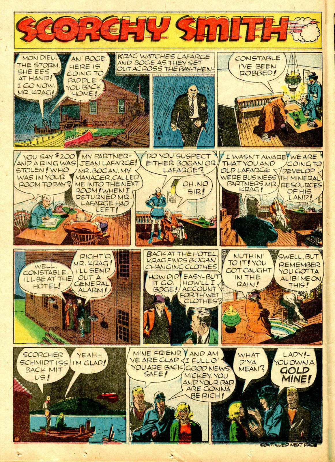 Read online Famous Funnies comic -  Issue #63 - 45