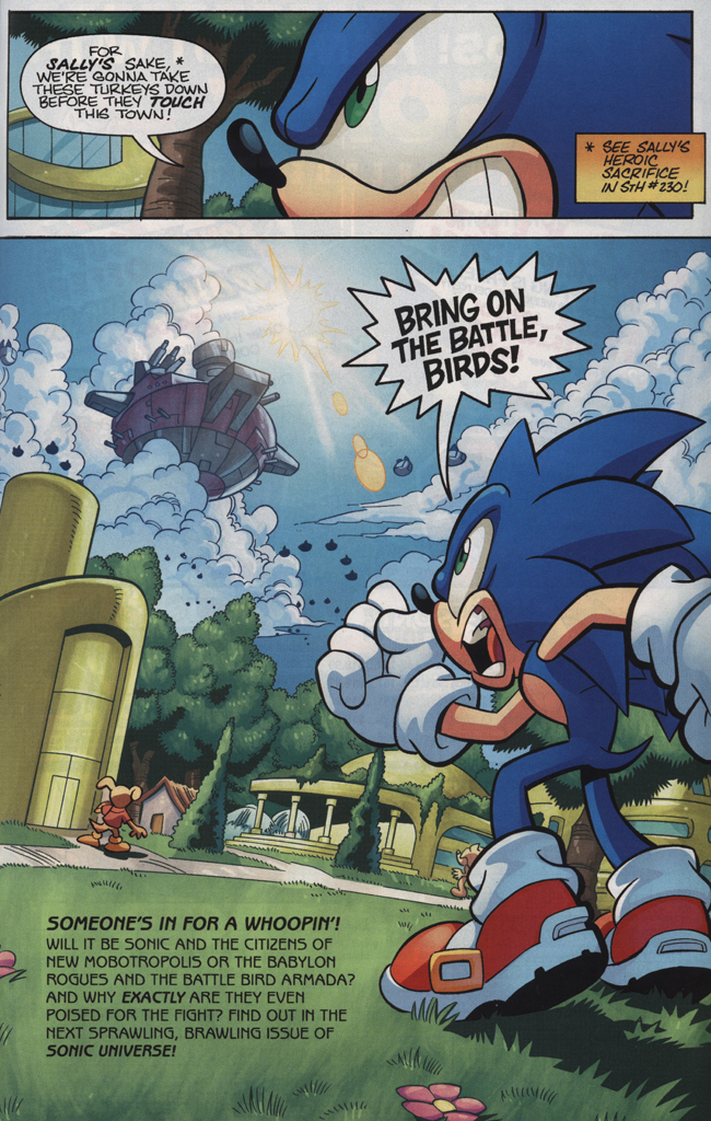 Read online Sonic Universe comic -  Issue #34 - 31