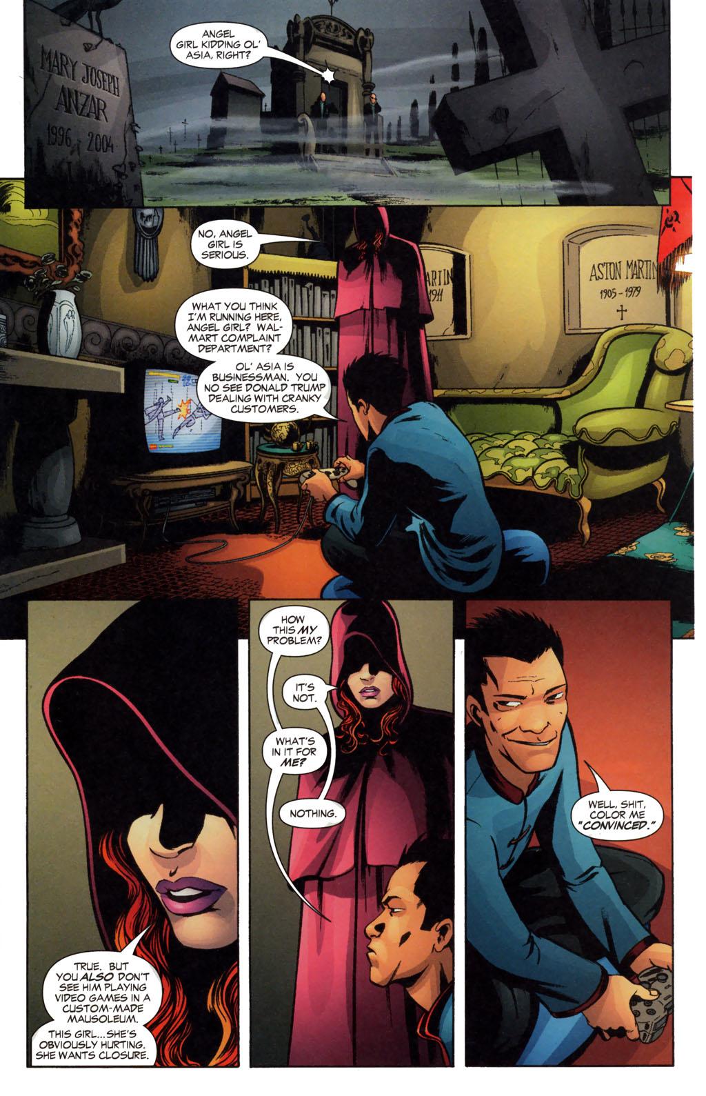 Read online Fallen Angel (2003) comic -  Issue #13 - 15