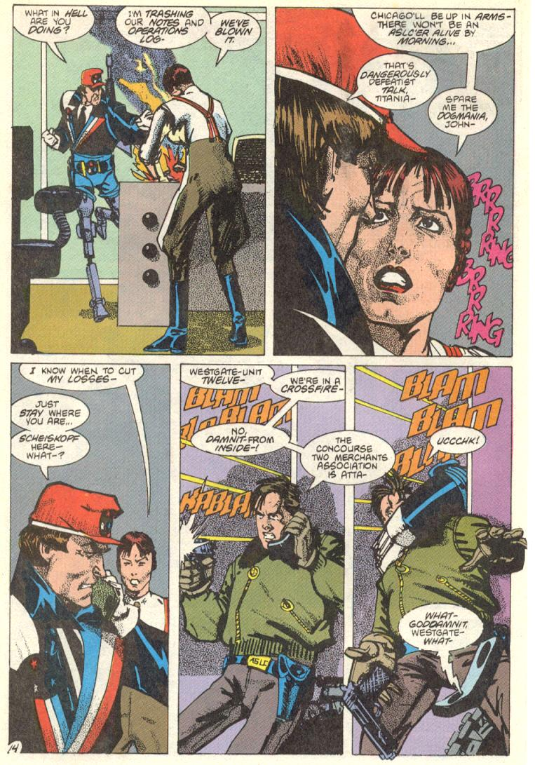 Read online American Flagg! comic -  Issue #12 - 15