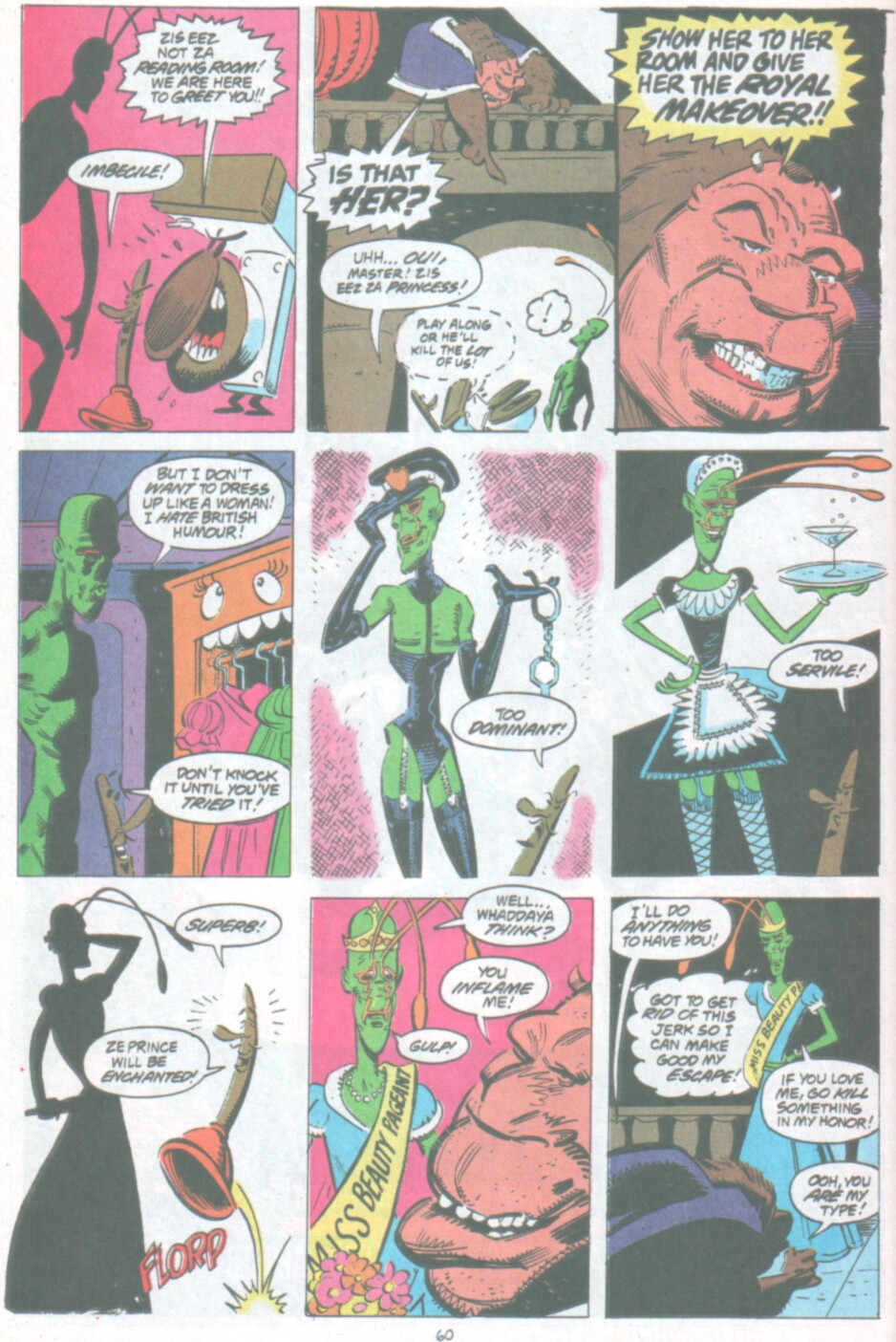 Read online Ambush Bug Nothing Special comic -  Issue # Full - 53