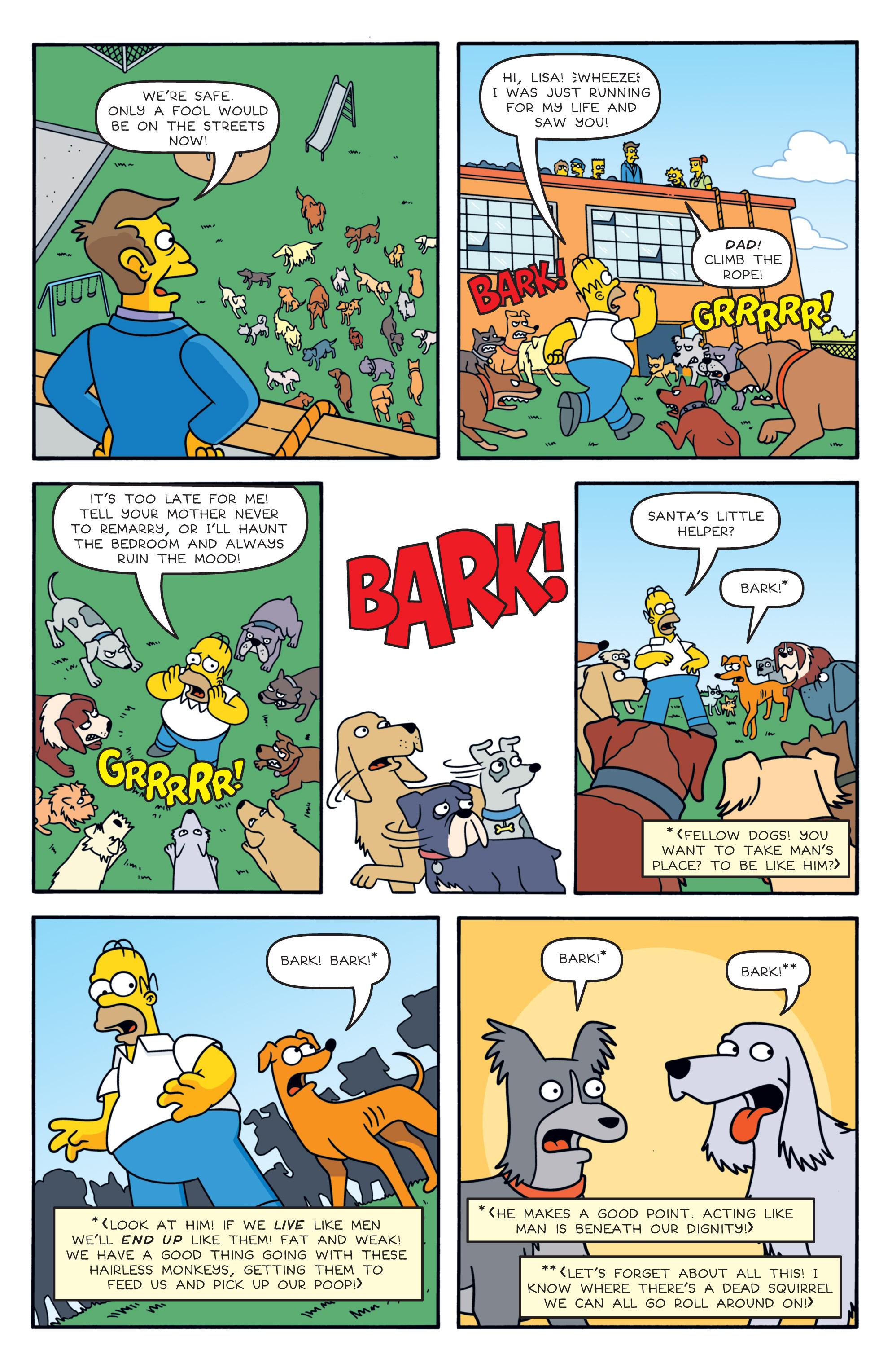 Read online Simpsons Comics comic -  Issue #194 - 22