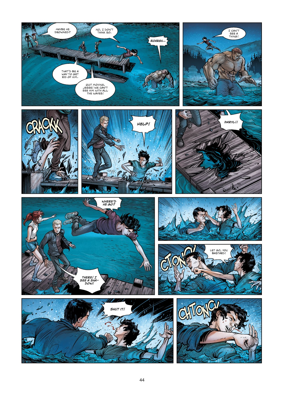 Read online Vigilantes comic -  Issue #3 - 44