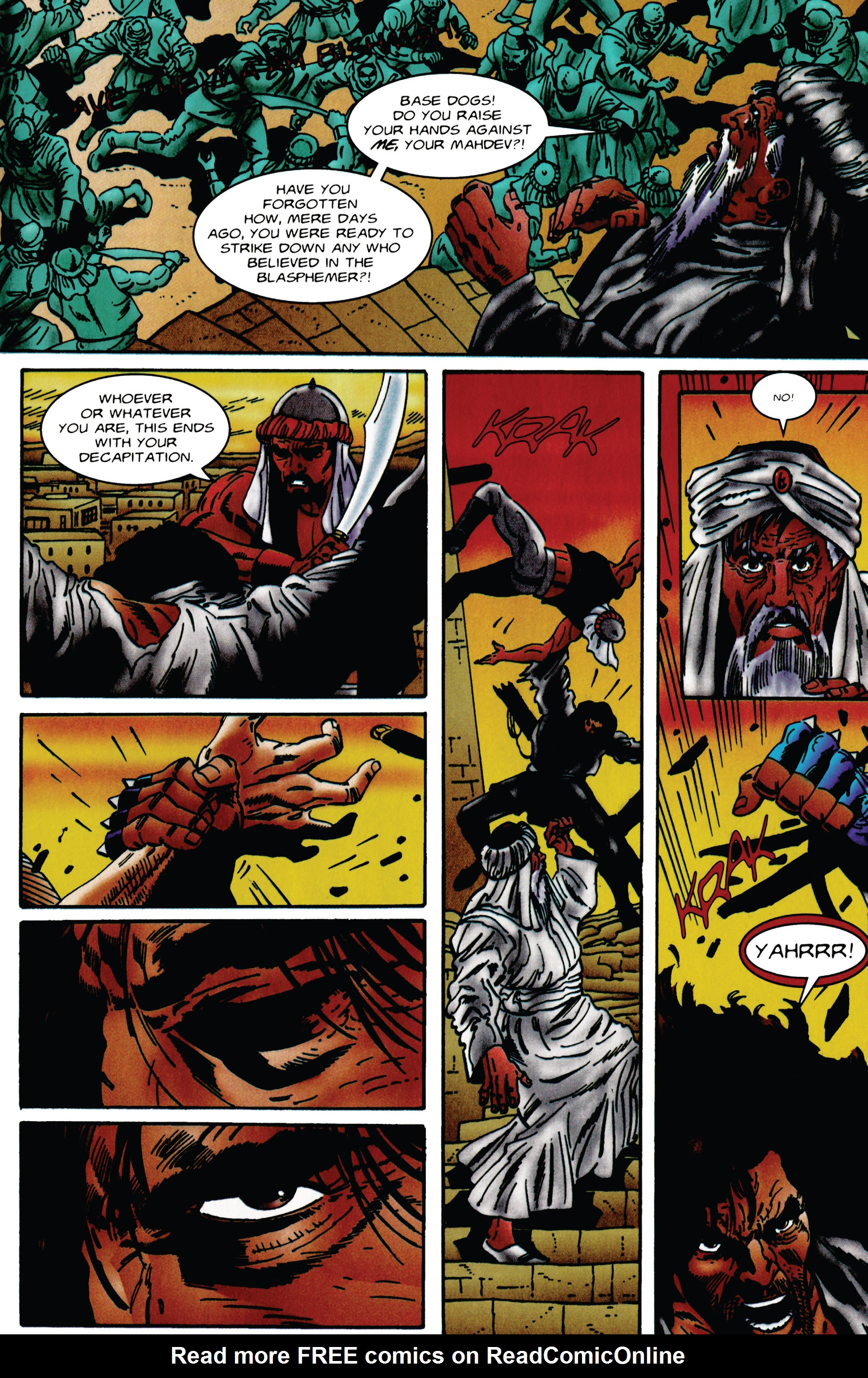 Read online Eternal Warrior (1992) comic -  Issue #48 - 13