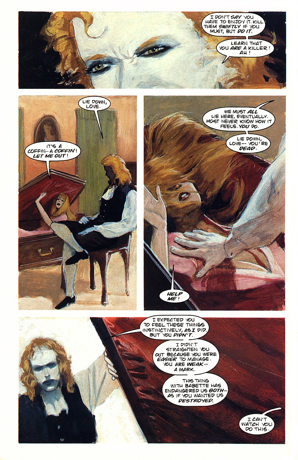 Read online Anne Rice's Interview with the Vampire comic -  Issue #3 - 22