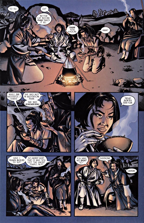 Read online Silken Ghost comic -  Issue #2 - 10