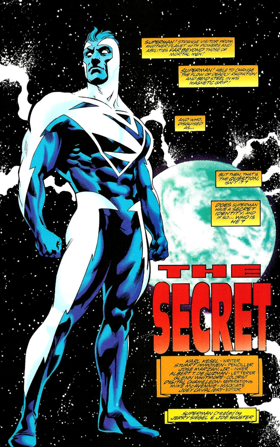Read online Adventures of Superman (1987) comic -  Issue #550 - 3