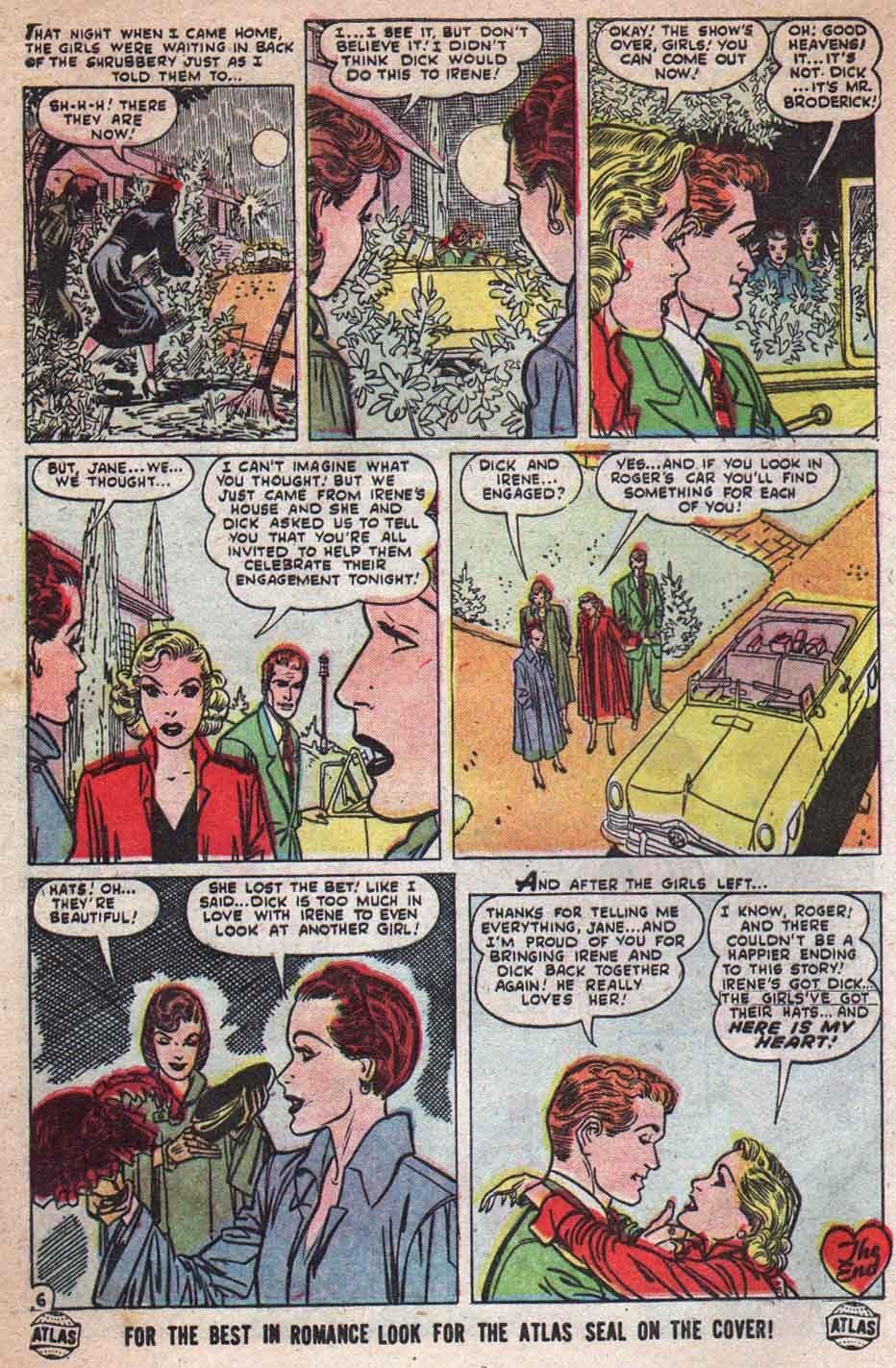 Love Romances (1949) issue 25 - Page 7