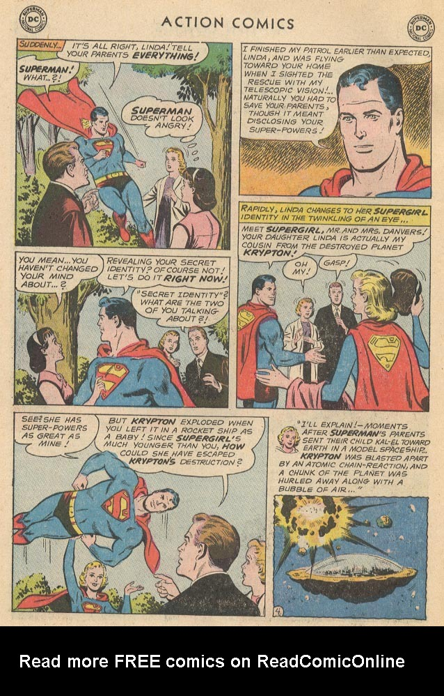 Read online Action Comics (1938) comic -  Issue #285 - 6