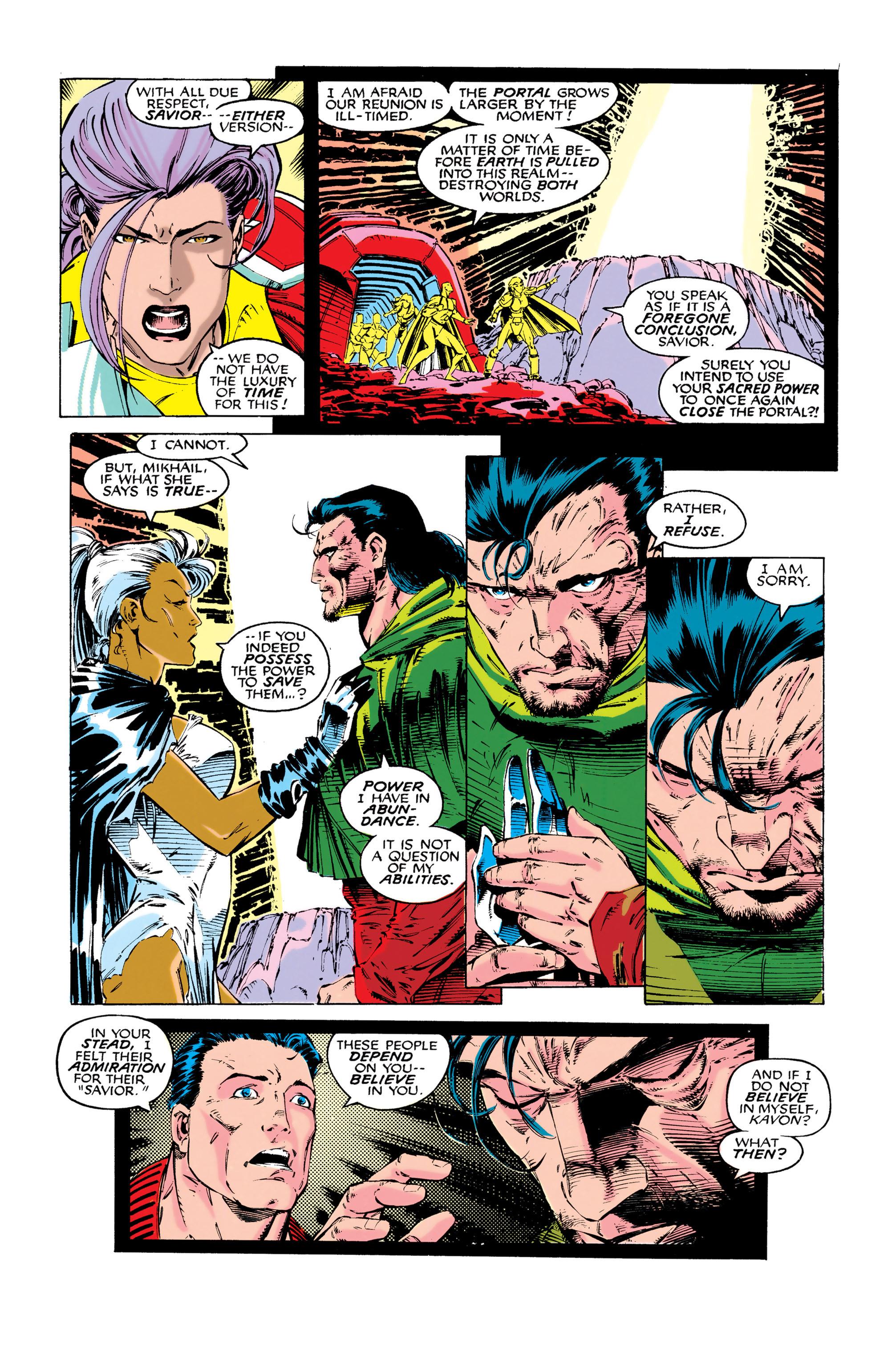 Read online Uncanny X-Men (1963) comic -  Issue #286 - 4