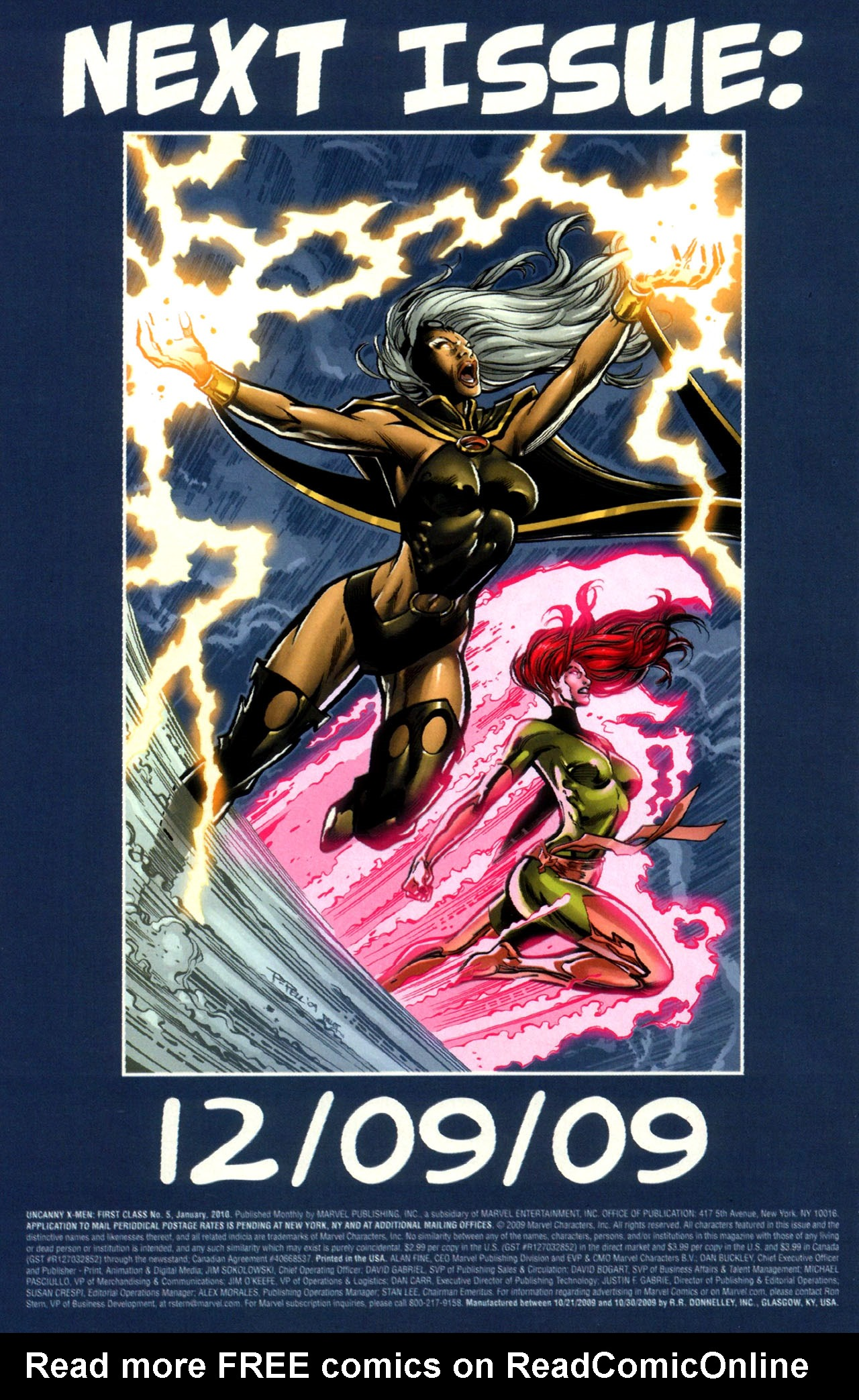 Read online Uncanny X-Men: First Class comic -  Issue #5 - 24