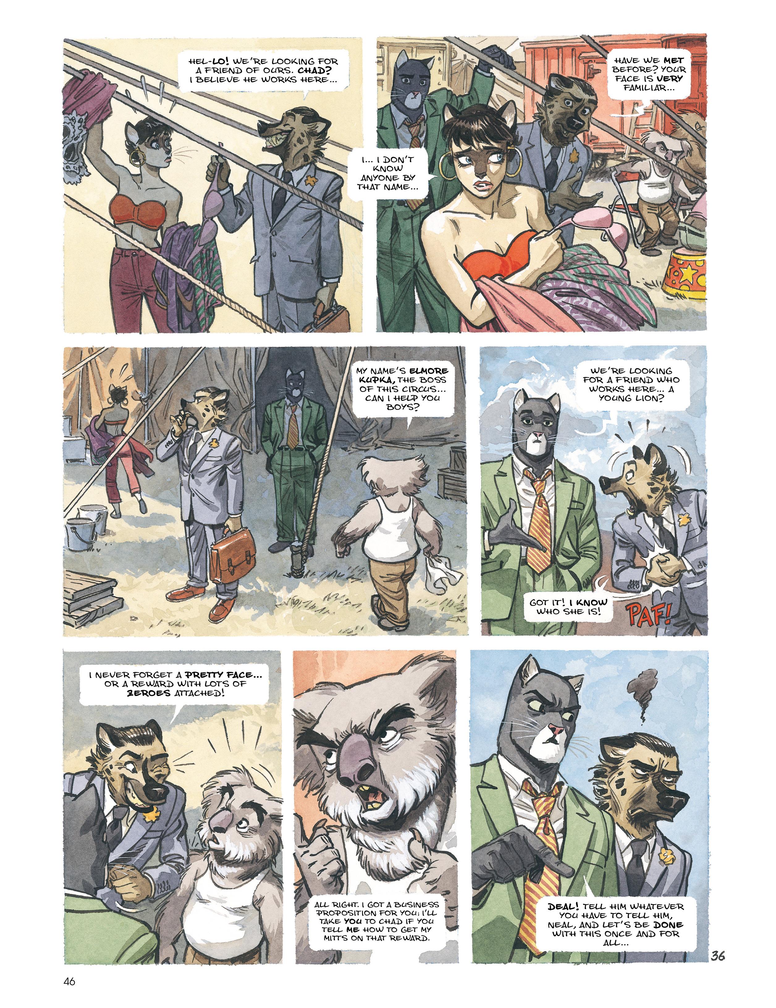Read online Blacksad: Amarillo comic -  Issue # Full - 45