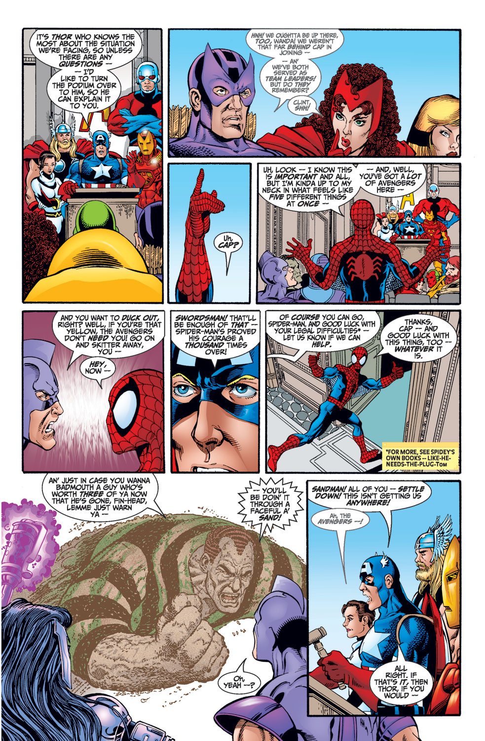 Read online Avengers (1998) comic -  Issue #1 - 20