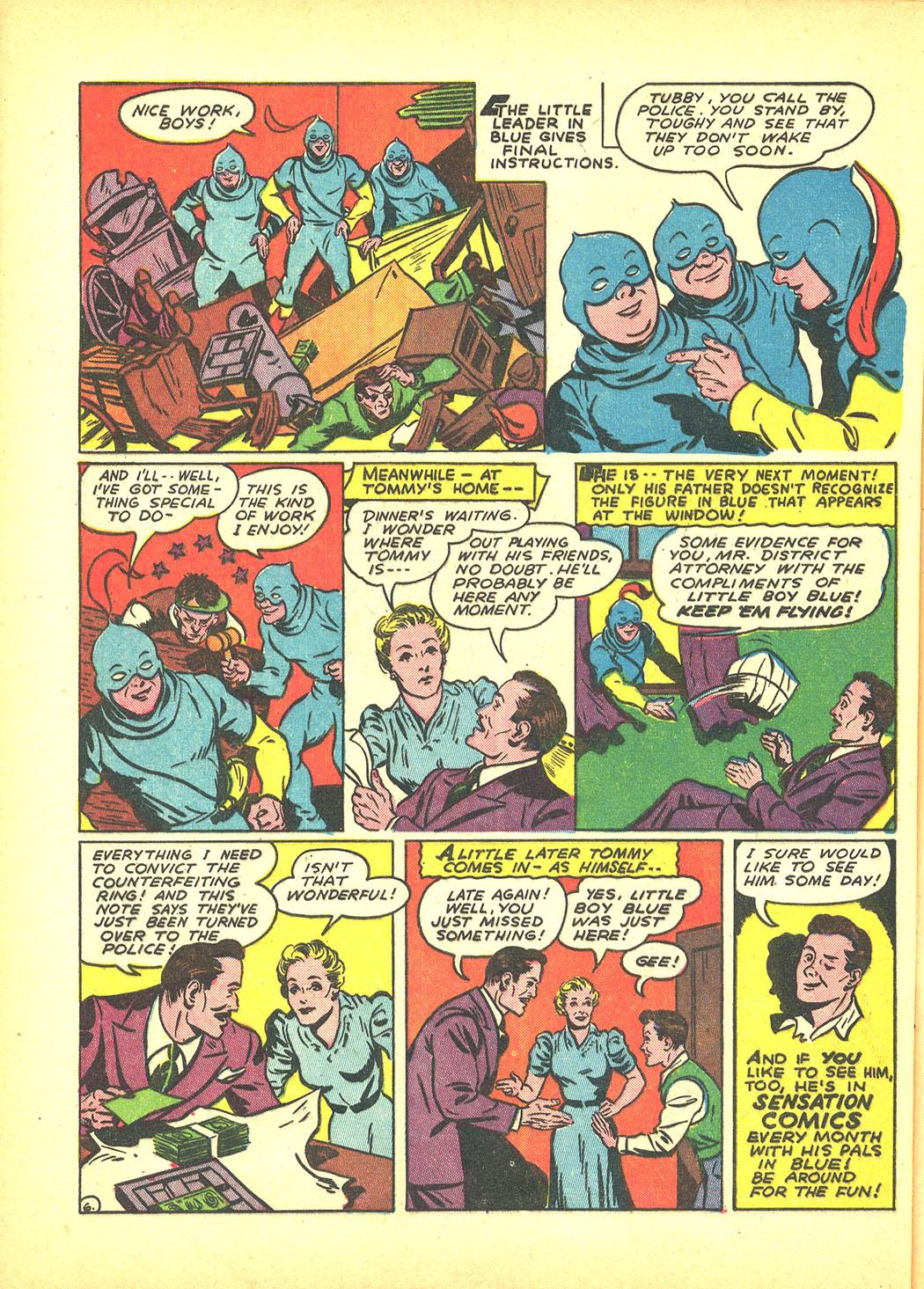 Read online Sensation (Mystery) Comics comic -  Issue #4 - 54