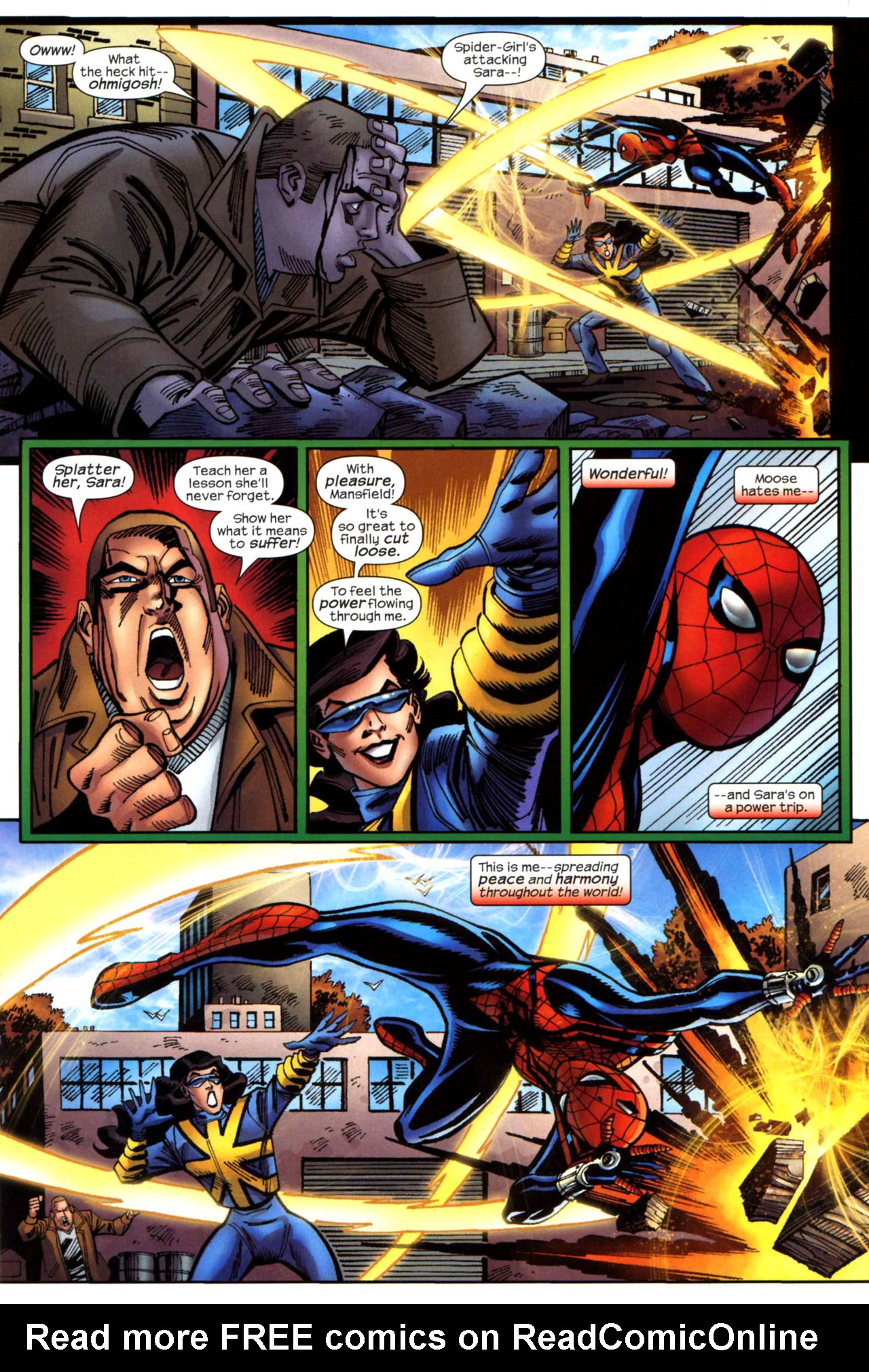 Read online Amazing Spider-Girl comic -  Issue #21 - 20