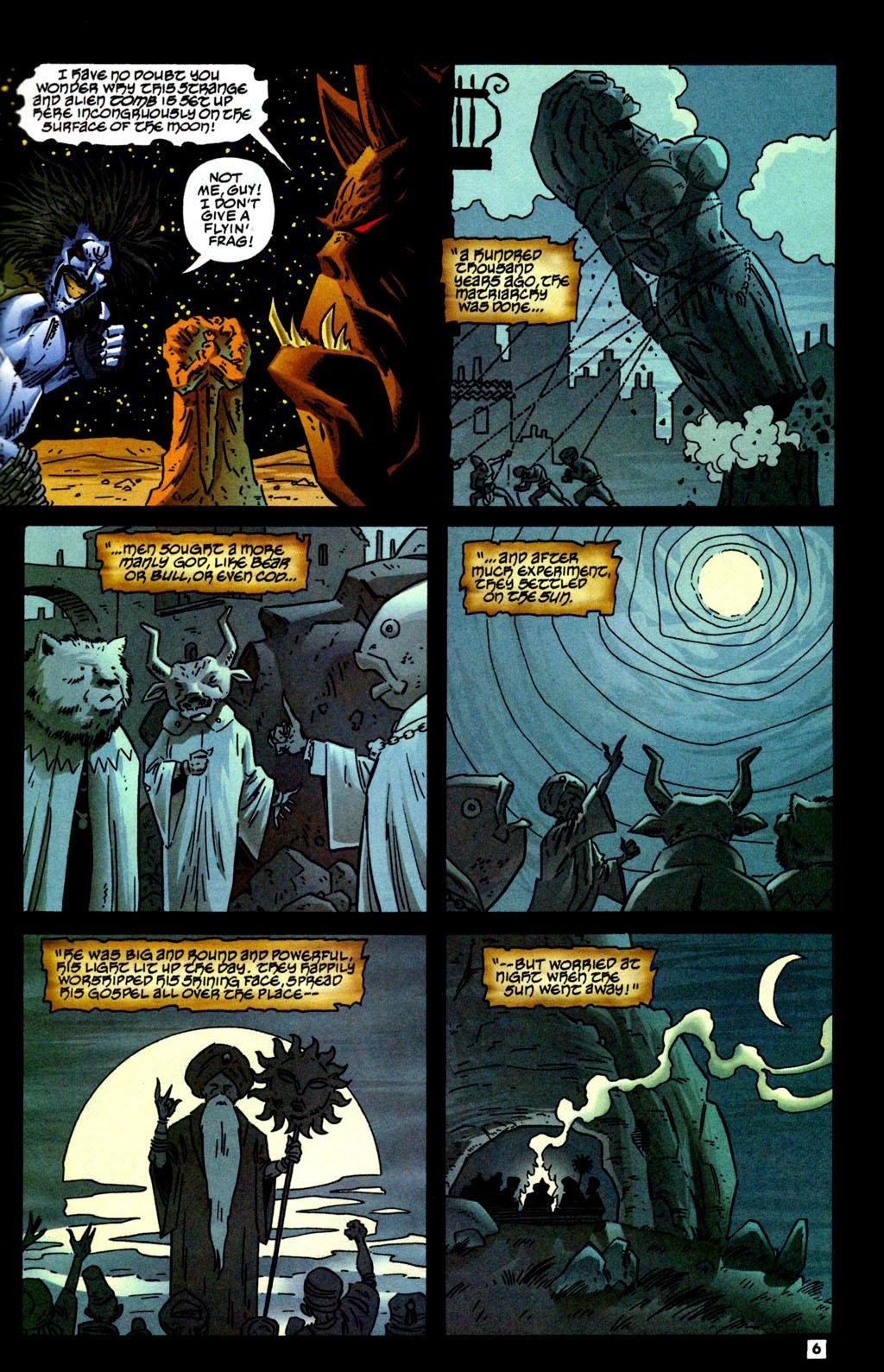 Read online Lobo/Demon: Hellowe'en comic -  Issue # Full - 7