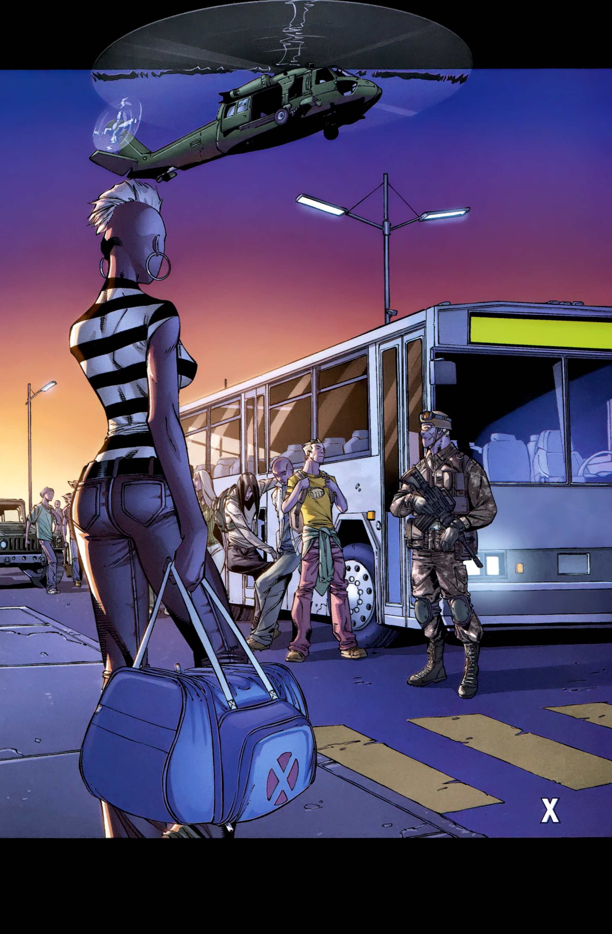 Read online Ultimate Comics X-Men comic -  Issue #23 - 21