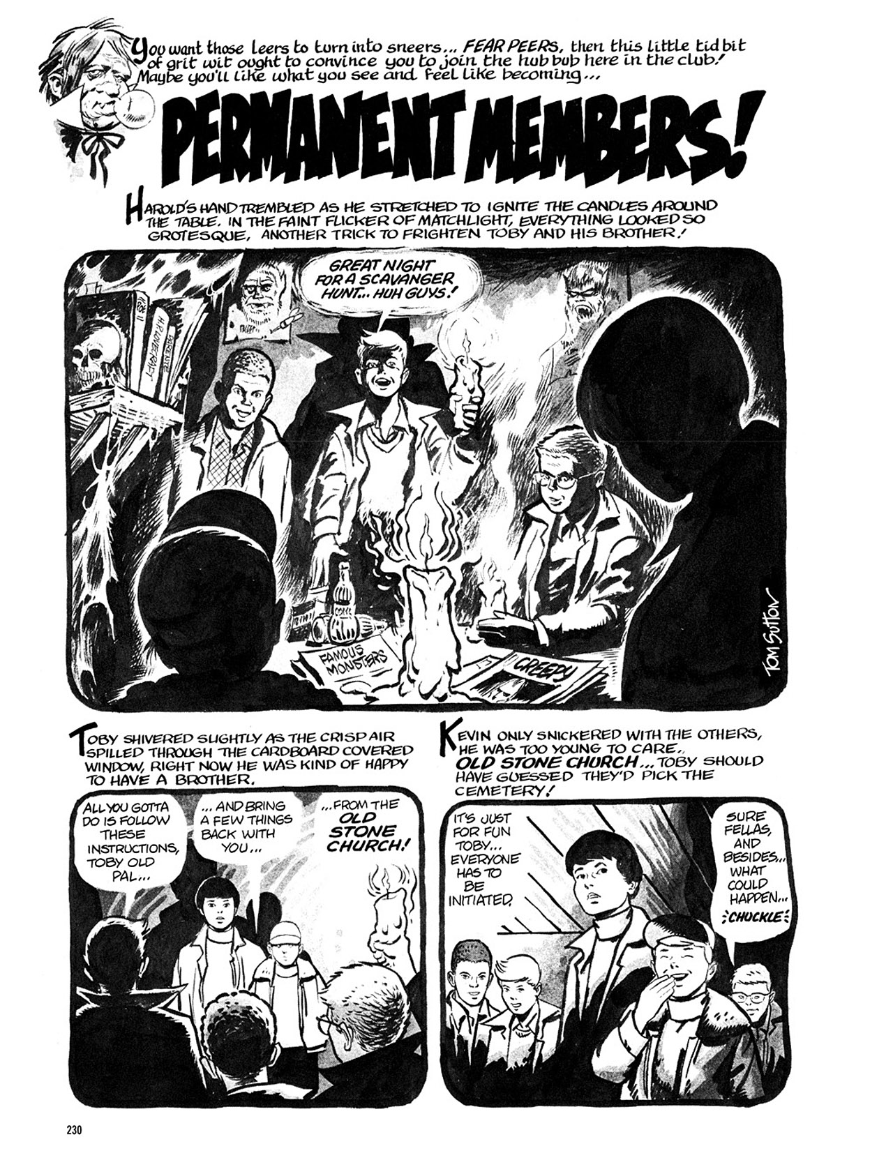 Read online Eerie Archives comic -  Issue # TPB 4 - 230
