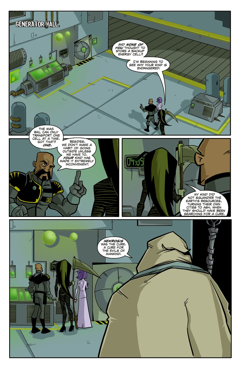 Read online Xombie Reanimated comic -  Issue #2 - 20