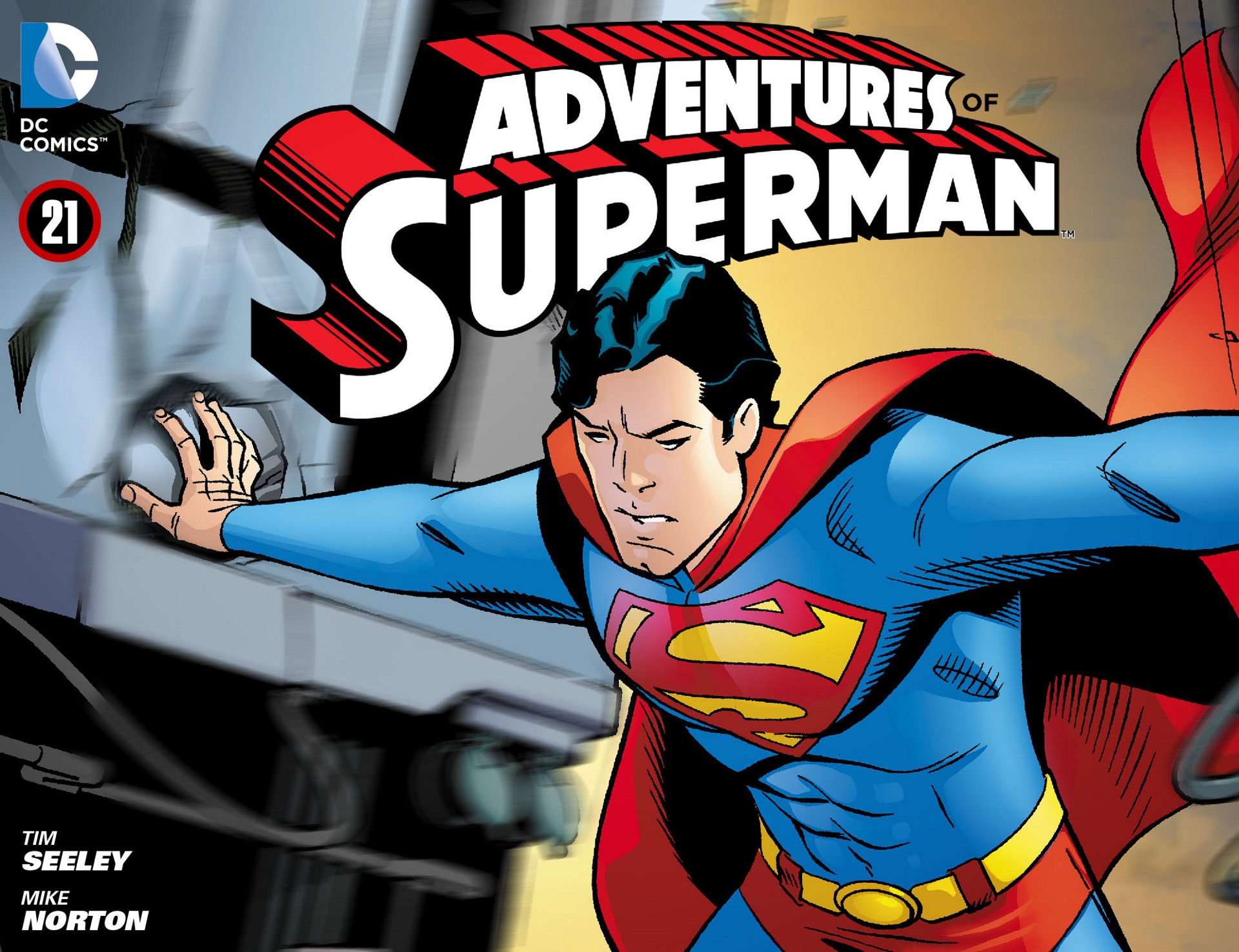 Read online Adventures of Superman [I] comic -  Issue #21 - 1
