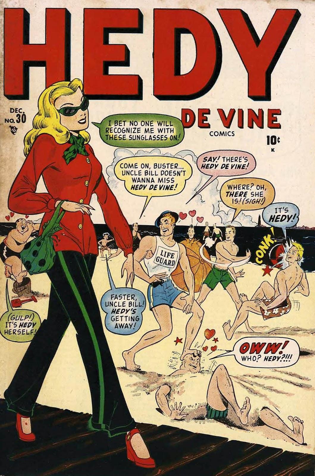Hedy De Vine Comics 30 Page 1