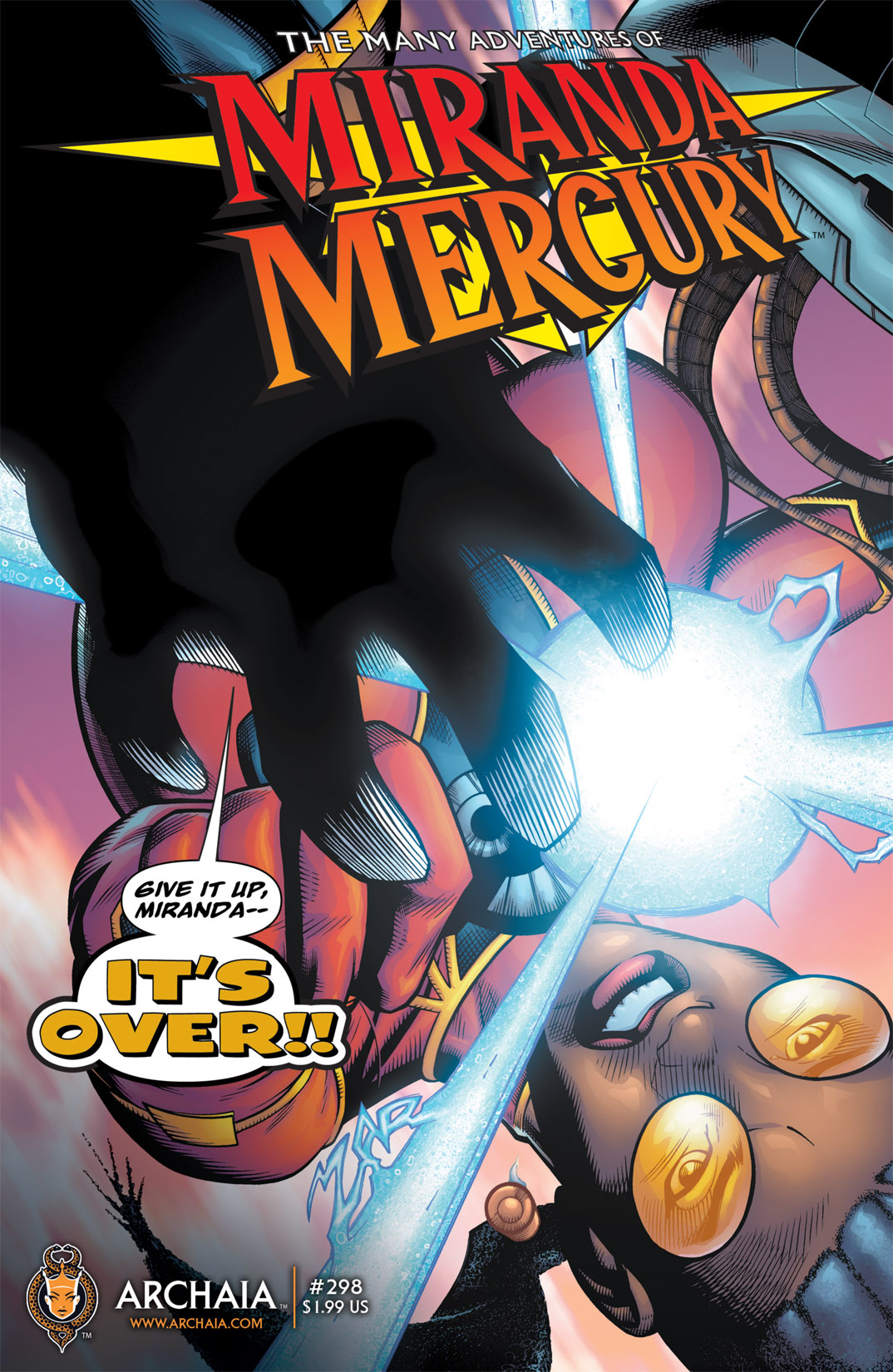 Read online The Many Adventures of Miranda Mercury: Time Runs Out comic -  Issue # TPB - 94