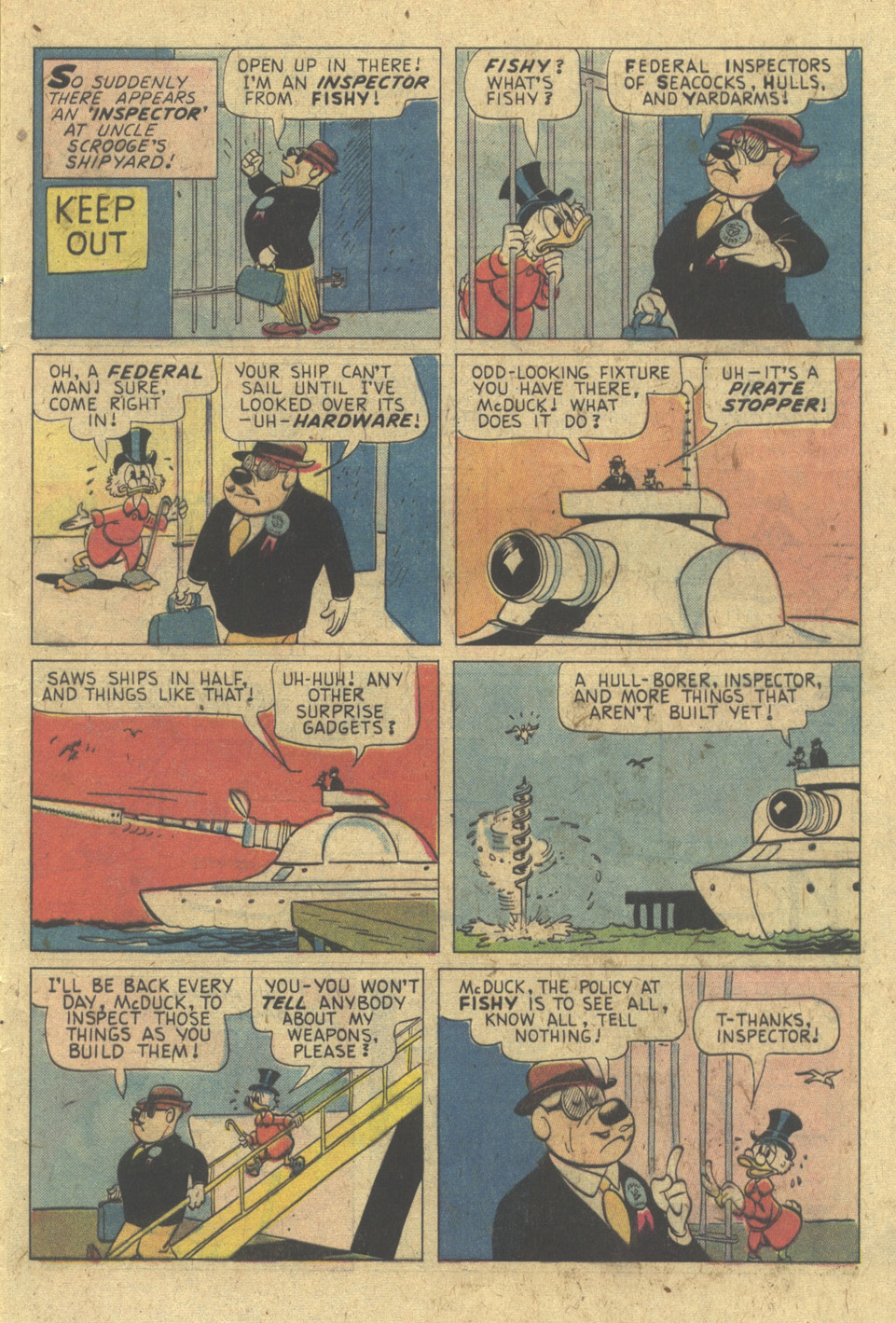 Read online Uncle Scrooge (1953) comic -  Issue #133 - 9