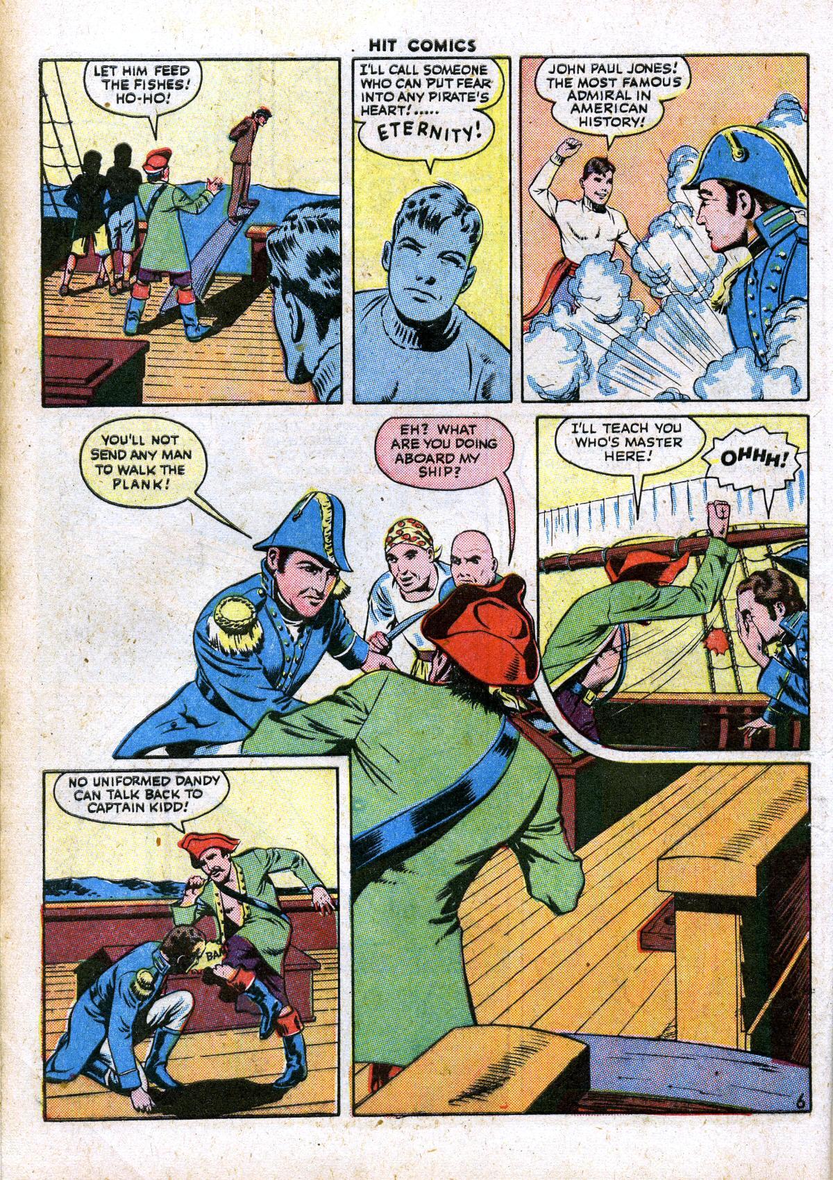 Read online Hit Comics comic -  Issue #41 - 8