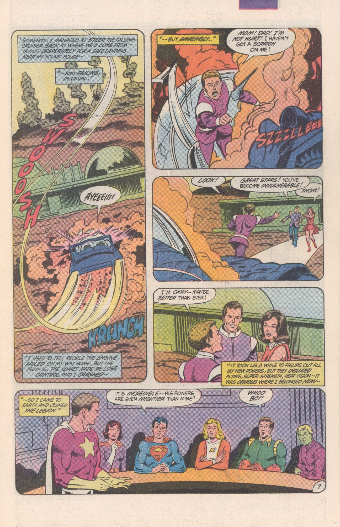 Legion of Super-Heroes (1980) 306 Page 7