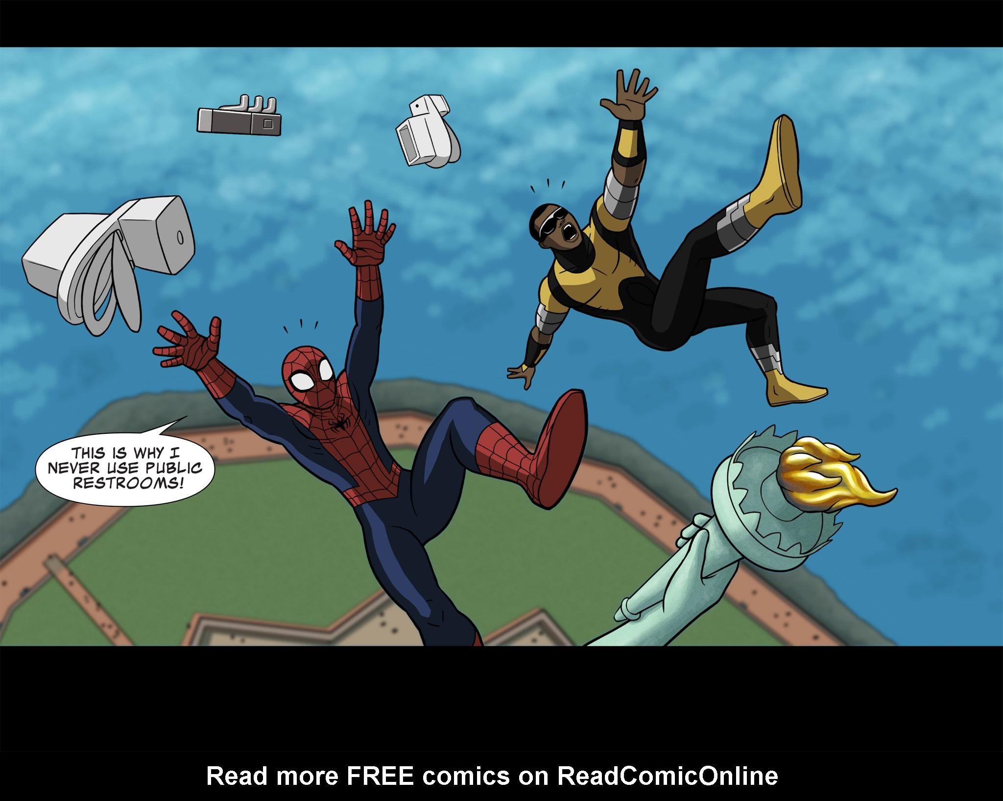 Read online Ultimate Spider-Man (Infinite Comics) (2015) comic -  Issue #7 - 29
