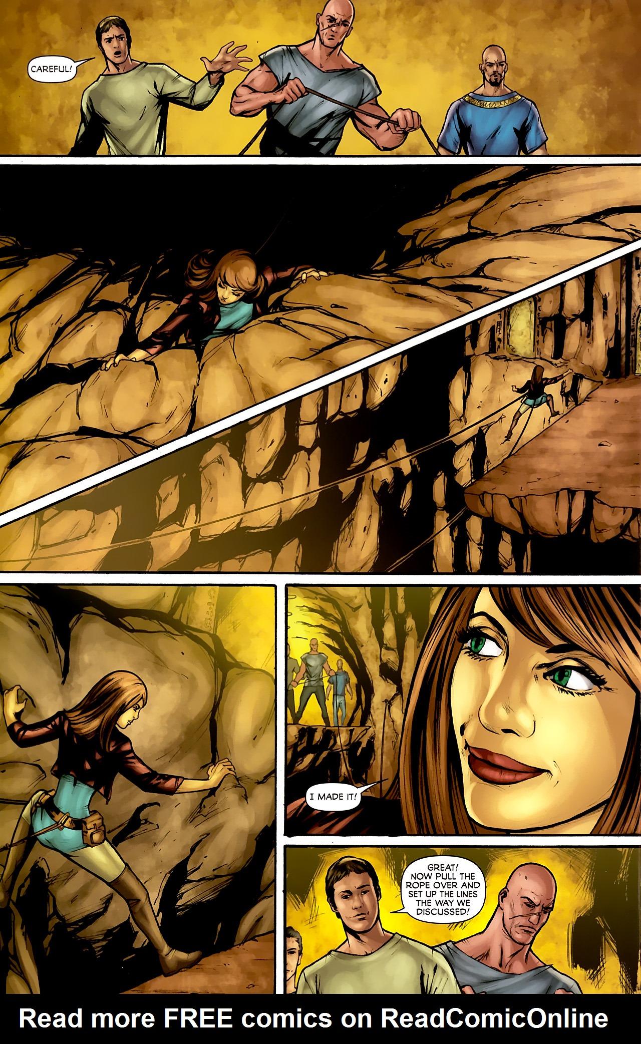 Read online Stargate: Daniel Jackson comic -  Issue #3 - 16
