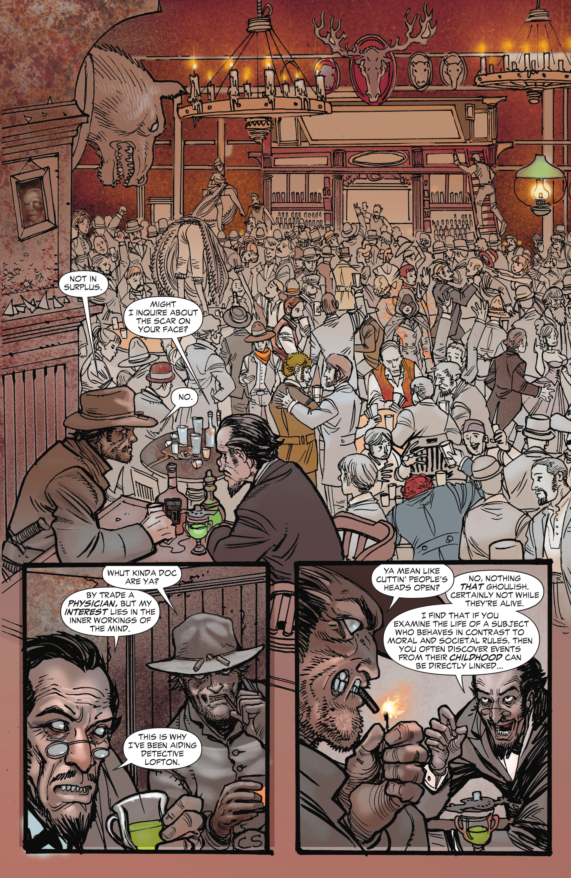 Read online All-Star Western (2011) comic -  Issue #1 - 12