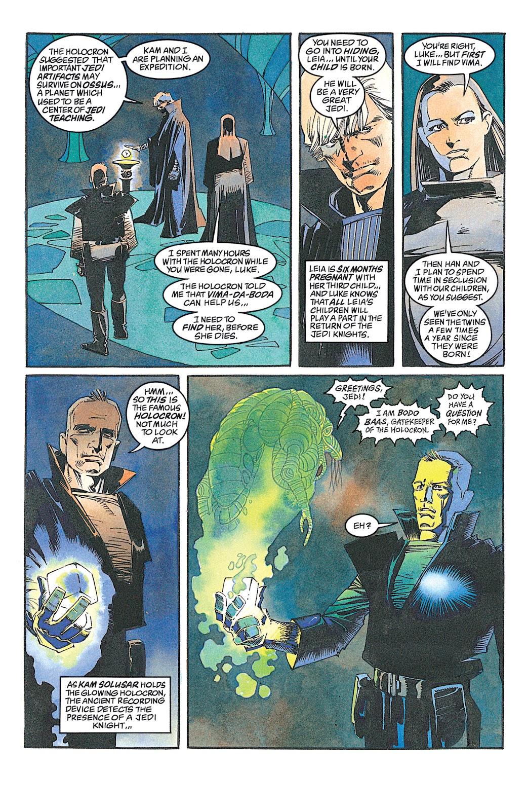 Read online Star Wars: Dark Empire Trilogy comic -  Issue # TPB (Part 2) - 72