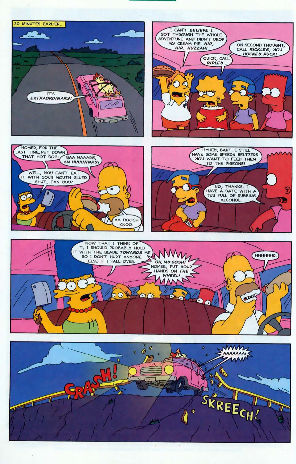 Read online Simpsons Comics comic -  Issue #43 - 3