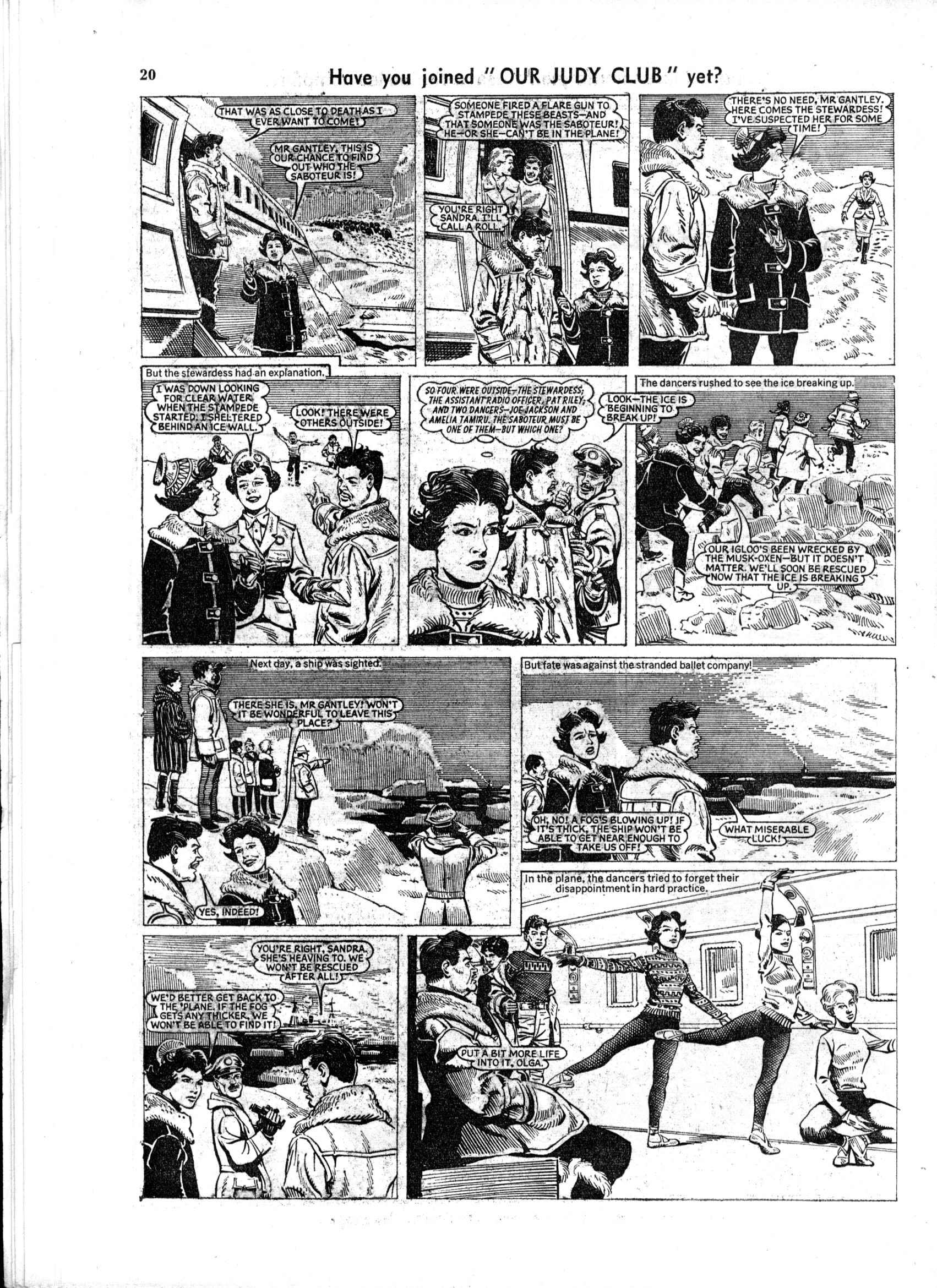 Read online Judy comic -  Issue #168 - 20