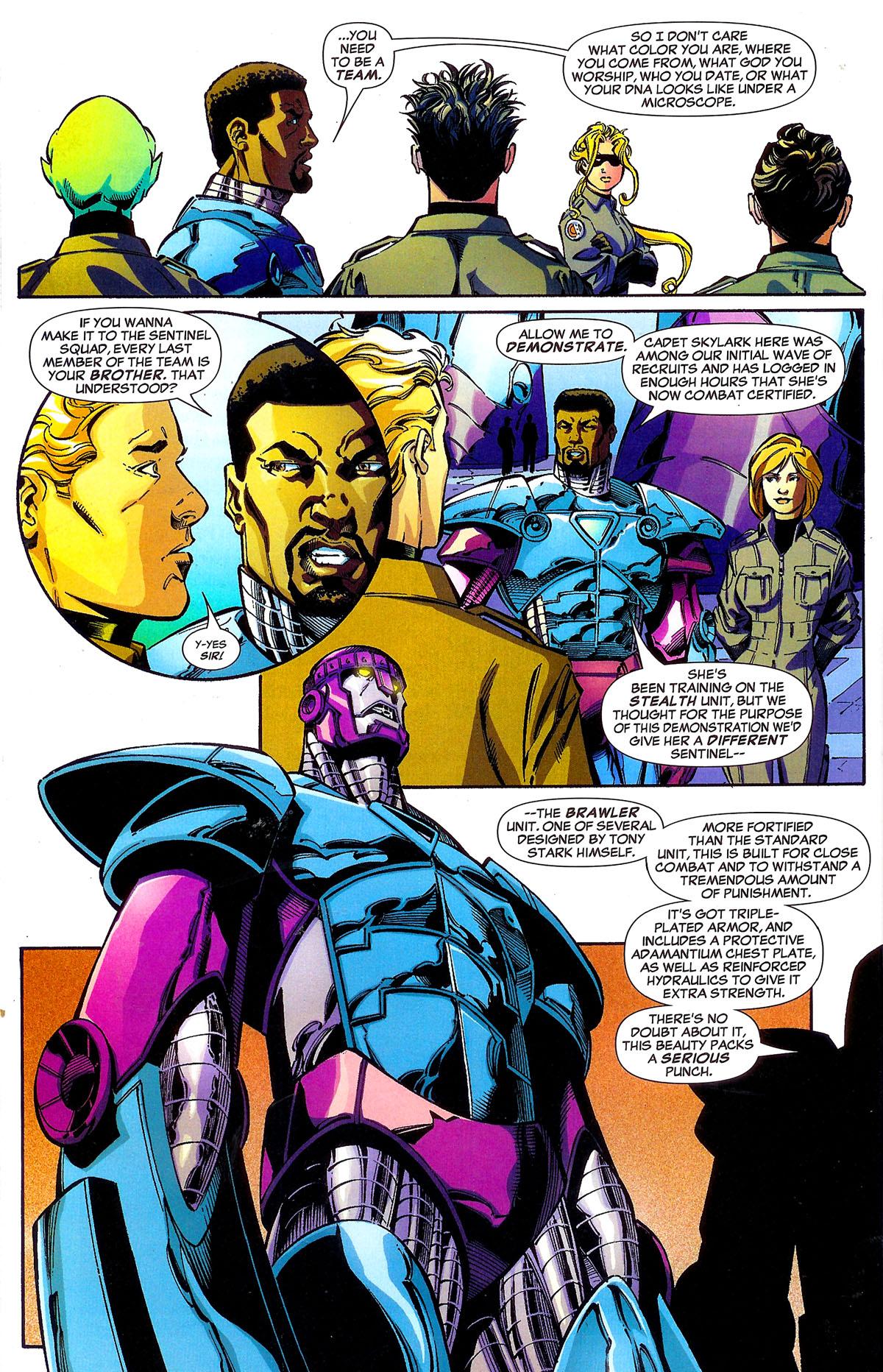 Read online Sentinel Squad O*N*E comic -  Issue #1 - 14