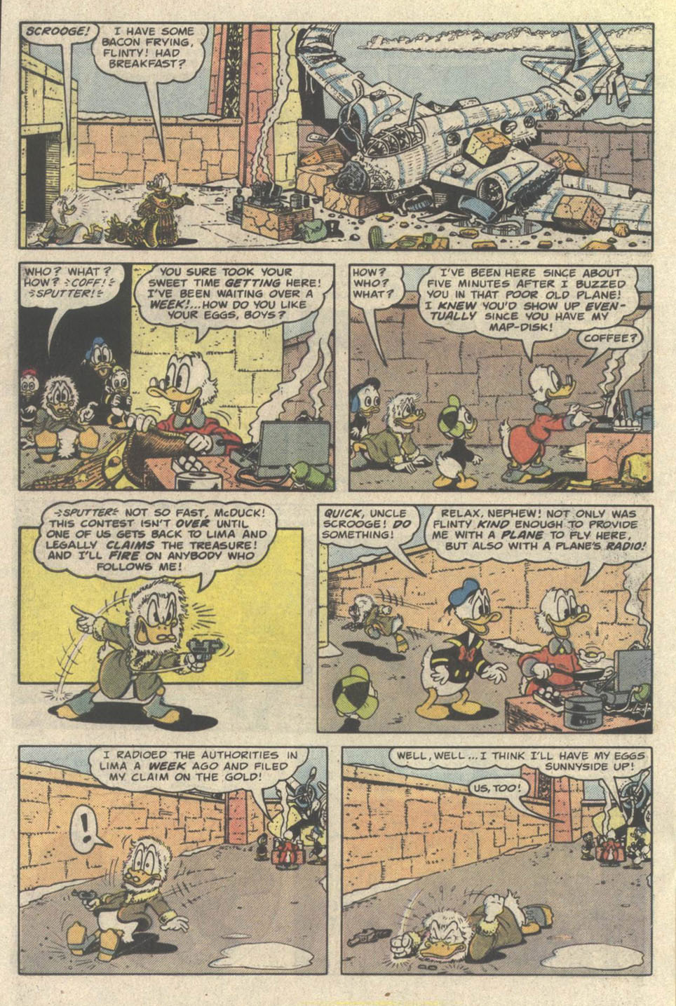 Read online Uncle Scrooge (1953) comic -  Issue #219 - 20