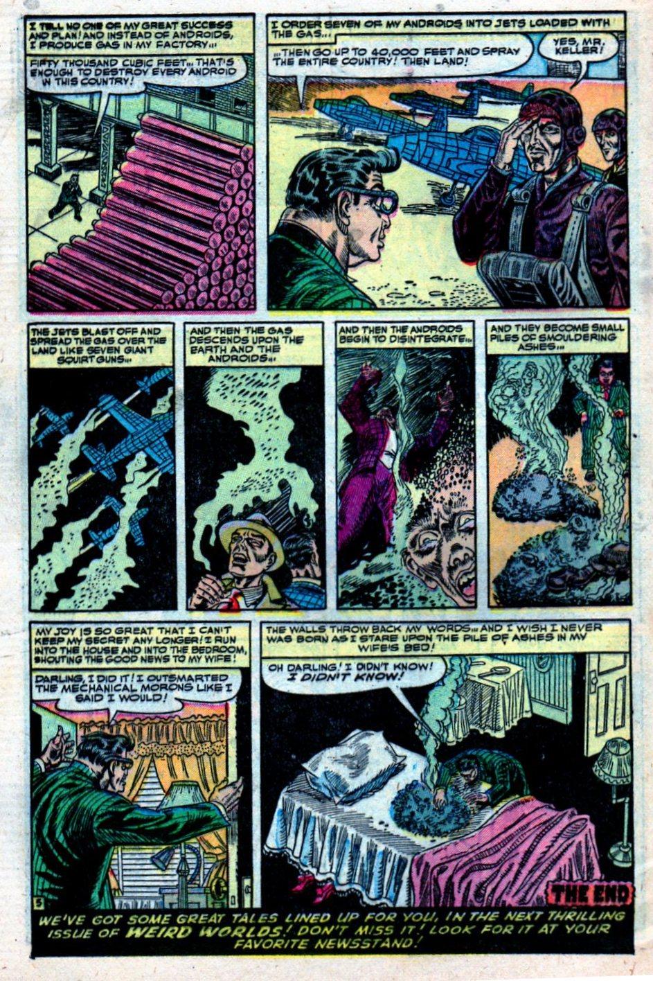 Read online Adventures into Weird Worlds comic -  Issue #27 - 33