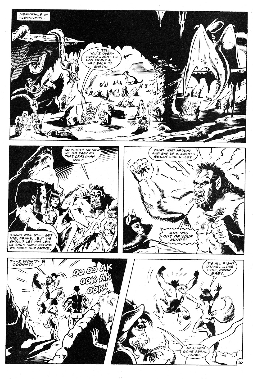 Ex-Mutants: The Shattered Earth Chronicles issue 9 - Page 12