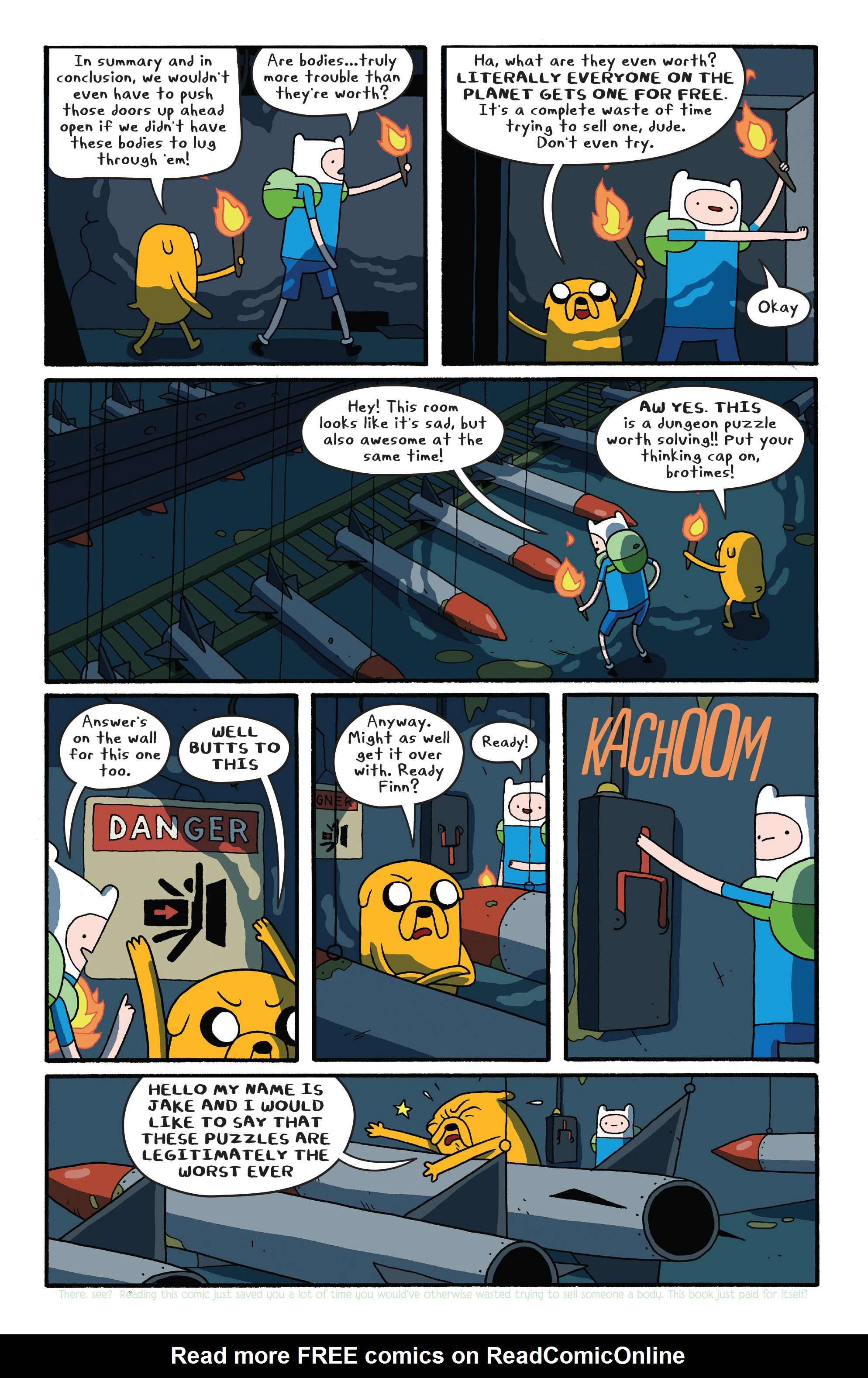Read online Adventure Time comic -  Issue #26 - 14