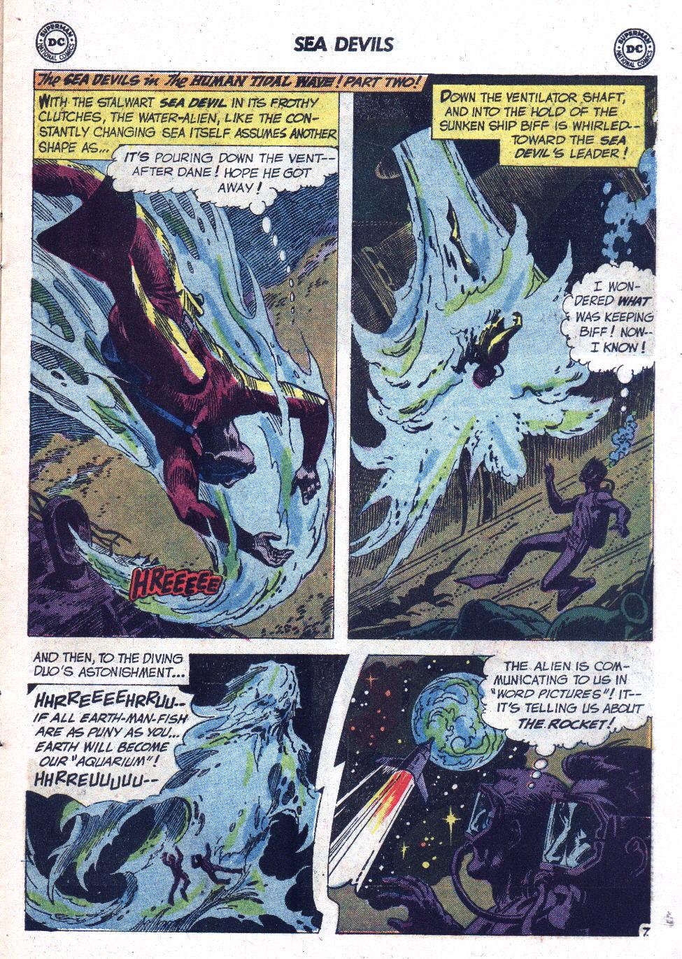 Read online Sea Devils comic -  Issue #7 - 12