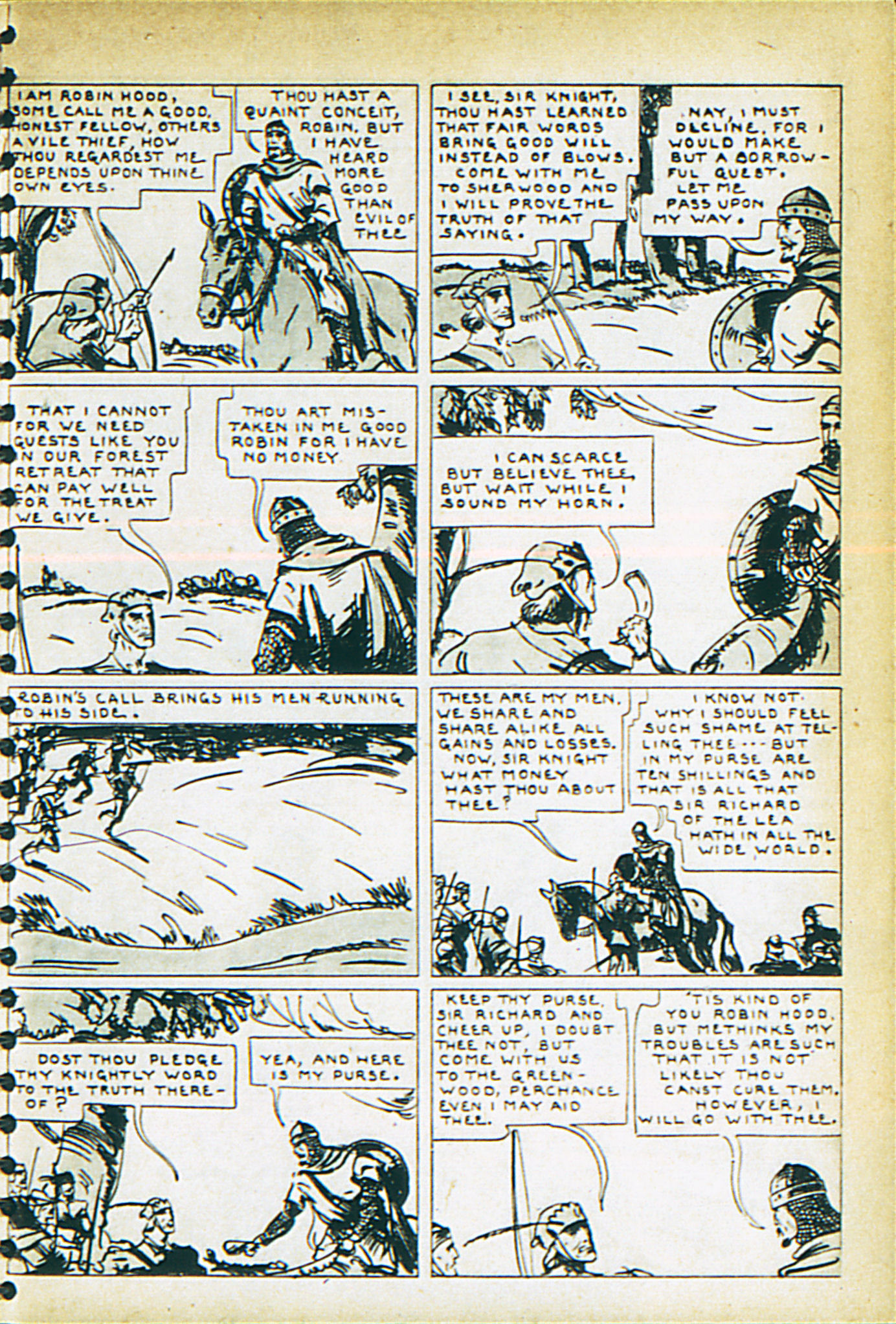 Read online Adventure Comics (1938) comic -  Issue #29 - 46