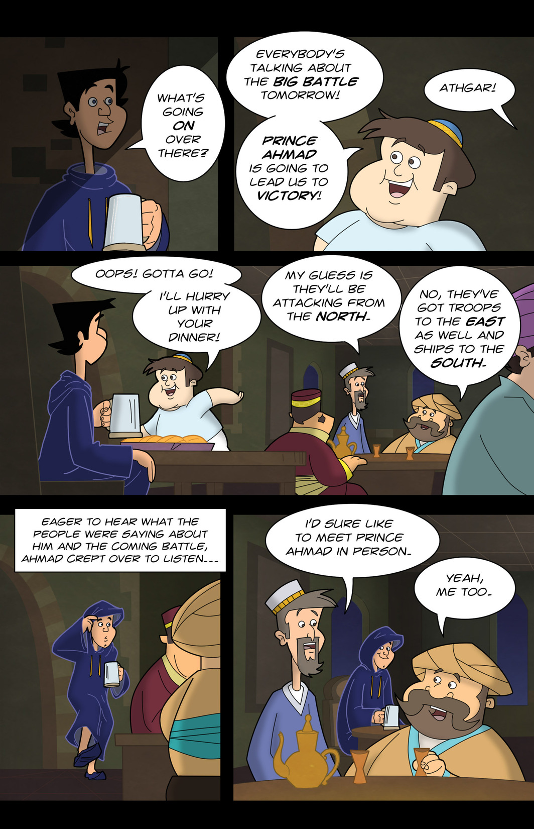 Read online 1001 Nights comic -  Issue #7 - 14