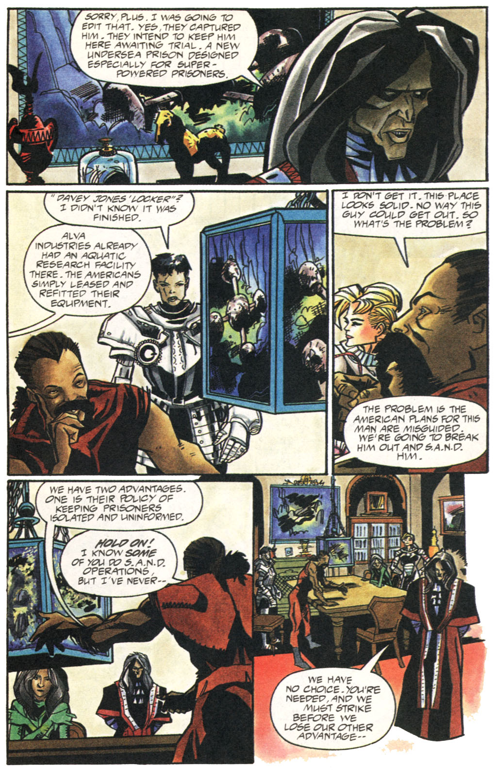 Read online Shadow Cabinet comic -  Issue #1 - 11