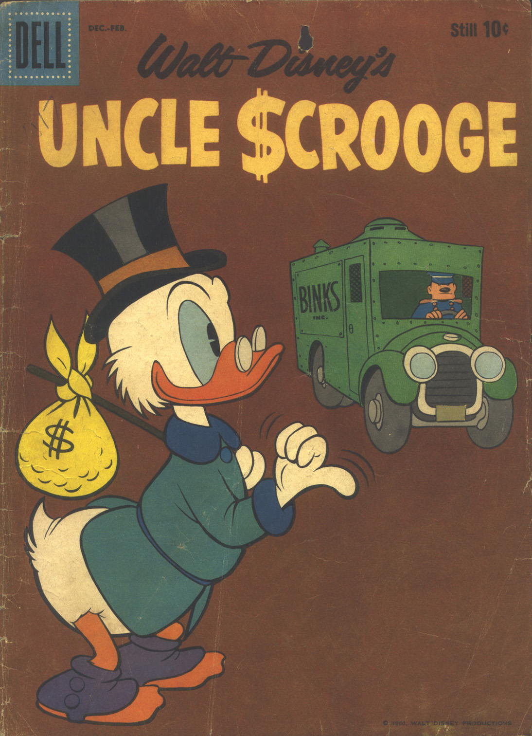 Read online Uncle Scrooge (1953) comic -  Issue #32 - 1